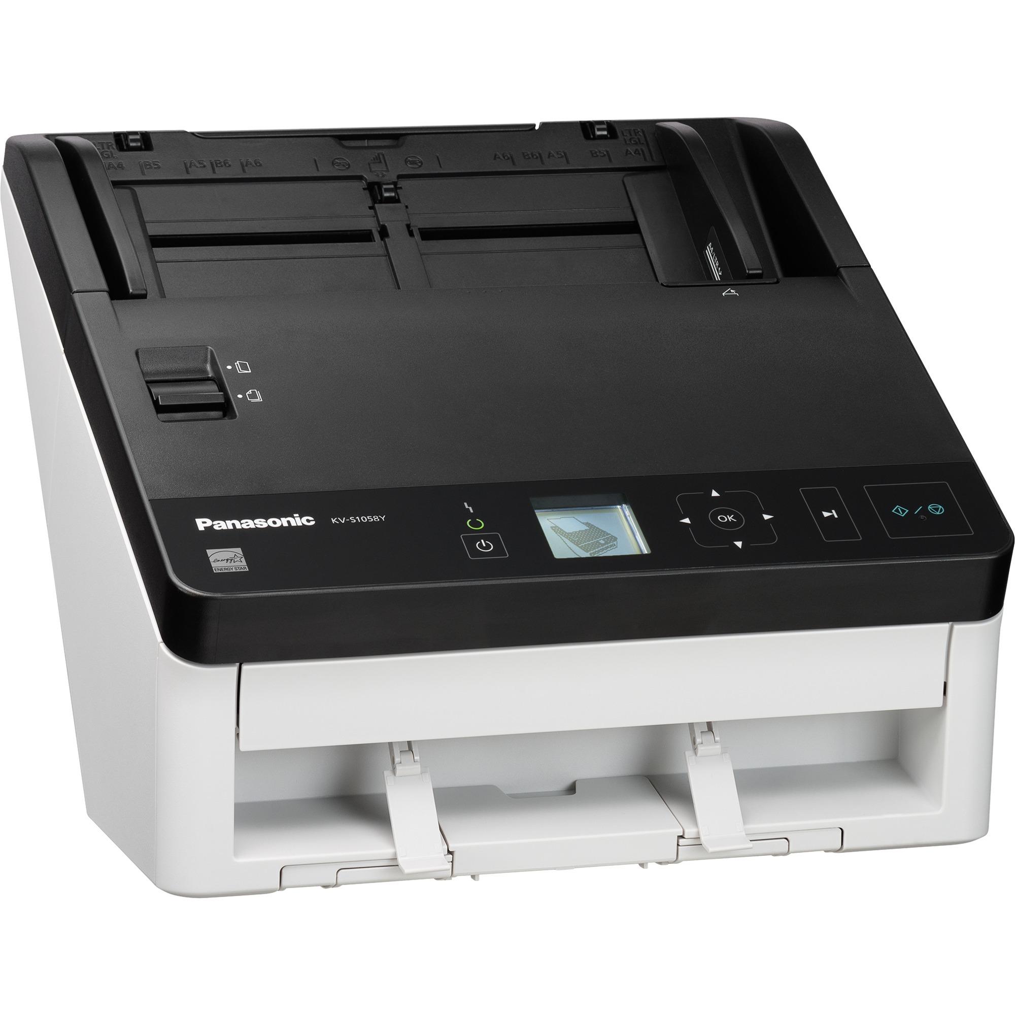 KV-S1058Y Scanner ADF 600 x 1200DPI A4 Noir, Blanc