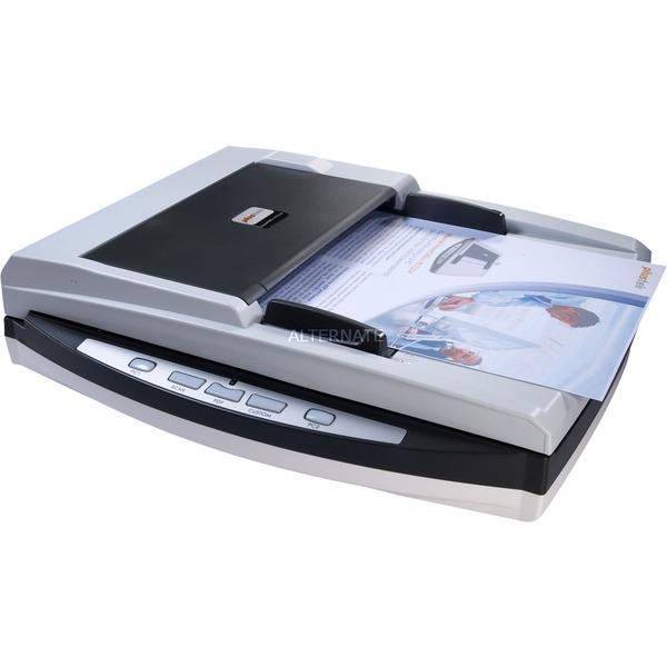 SmartOffice PL1530 Flatbed & ADF scanner 600 x 600DPI A4 Noir, Blanc, Scanner à feuilles