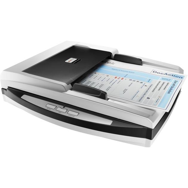 SmartOffice PN2040 Flatbed & ADF scanner 600 x 600DPI A4 Noir, Blanc, Scanner à plat