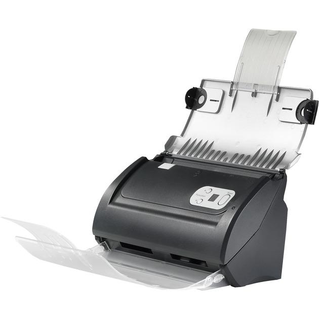 SmartOffice PS286 Plus ADF scanner 600 x 600DPI A4 Noir, Argent, Scanner à feuilles