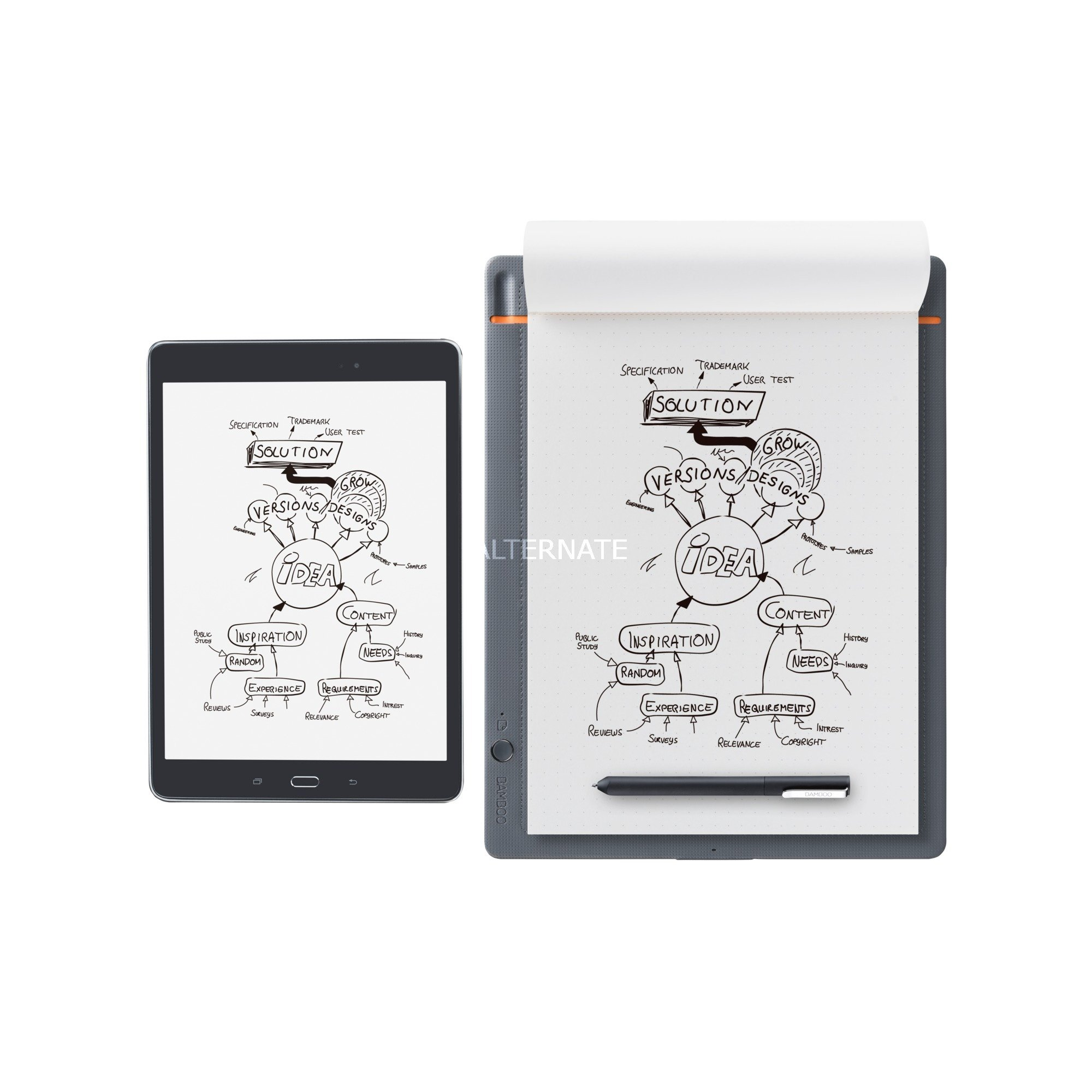 Bamboo Slate large, Tablette graphique