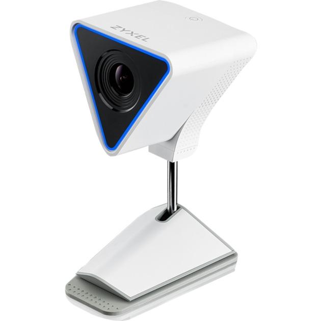 Aurora IP security camera Intérieur Cube Noir, Blanc, Caméra réseau