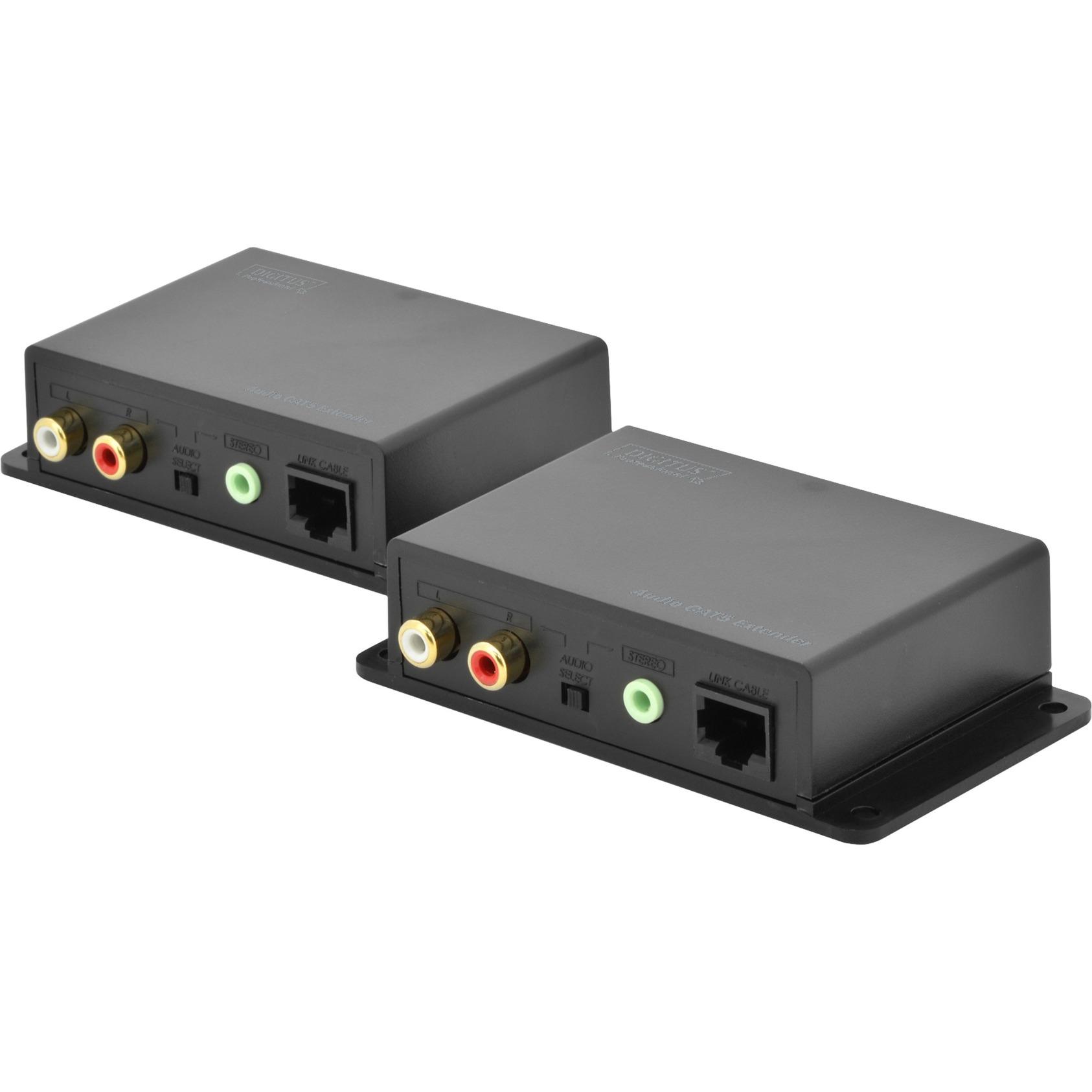 DS-56100 Network transmitter & receiver Noir prolongateur réseau, Module d'extension