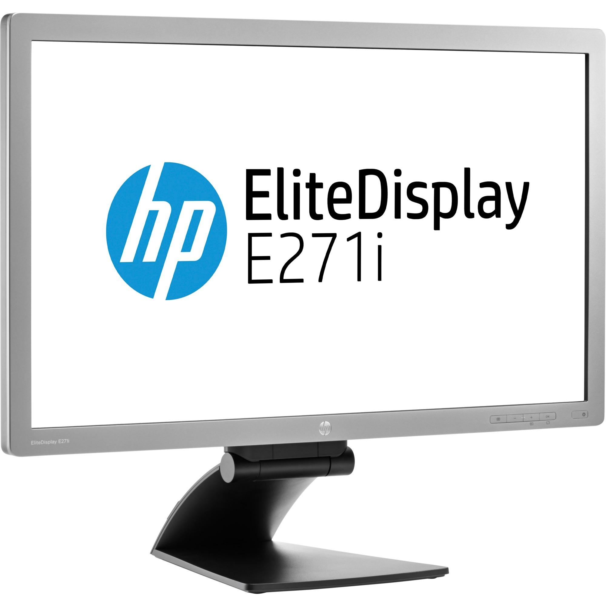 Moniteur IPS à rétroéclairage LED EliteDisplay E271i, 27 pouces, Moniteur LED