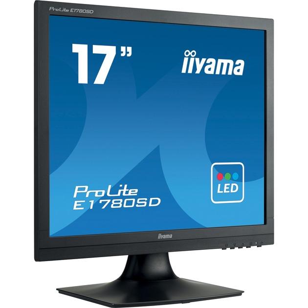 ProLite E1780SD-B1 17 TN Noir écran plat de PC, Moniteur LED