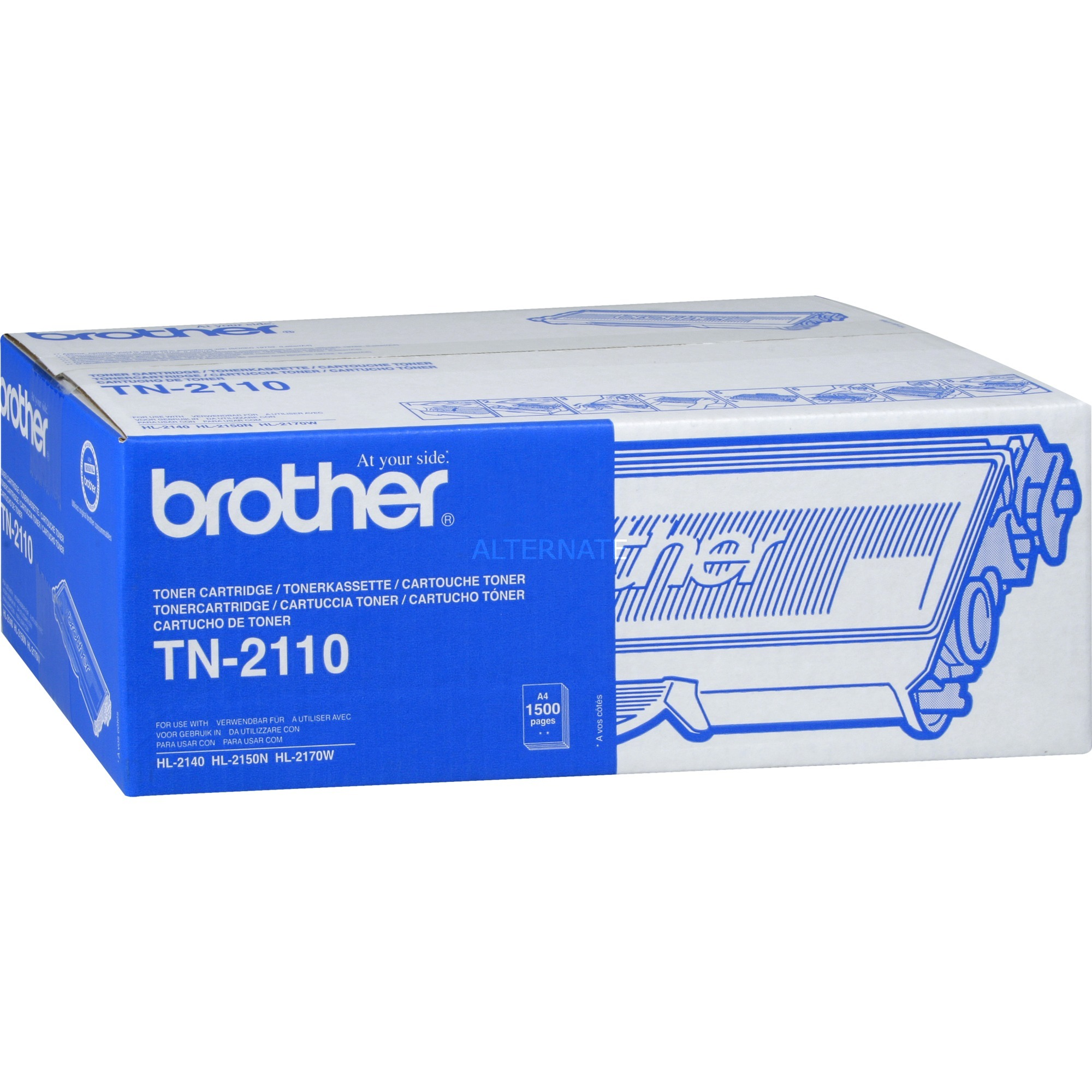 TN-2110 - Cartouche d'encre - Toner