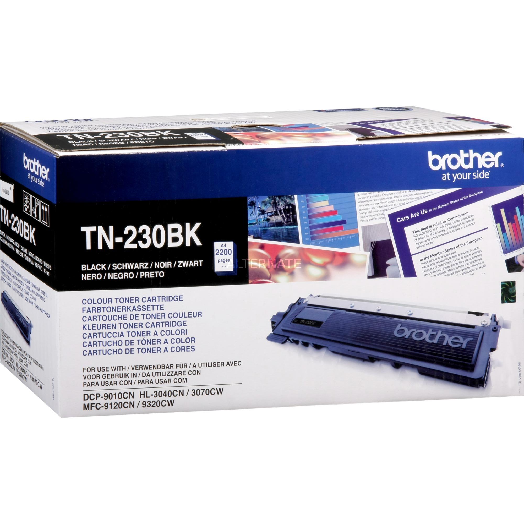 TN-230BK - Cartouche d'encre - Toner Noir