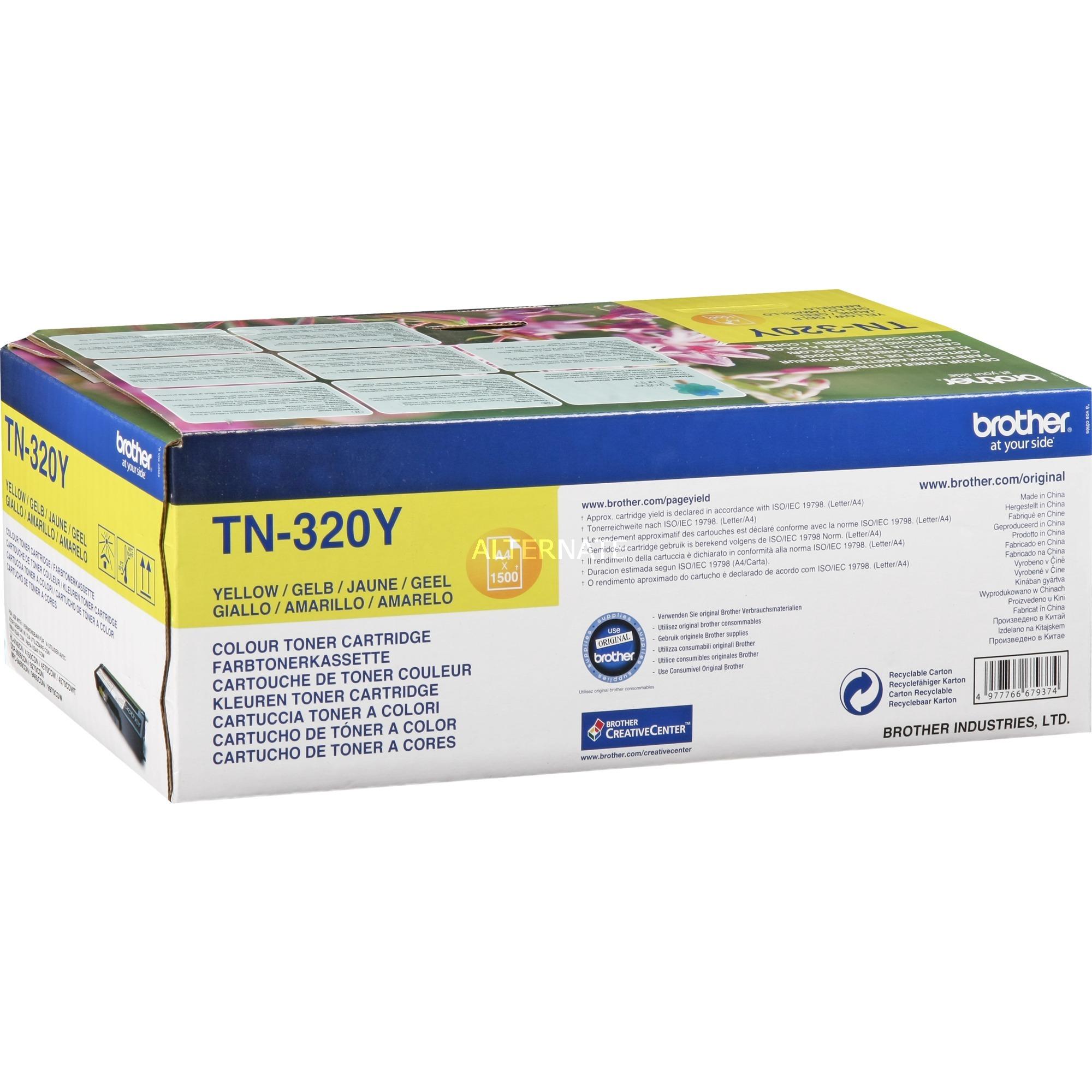 TN-320Y - Toner Jaune