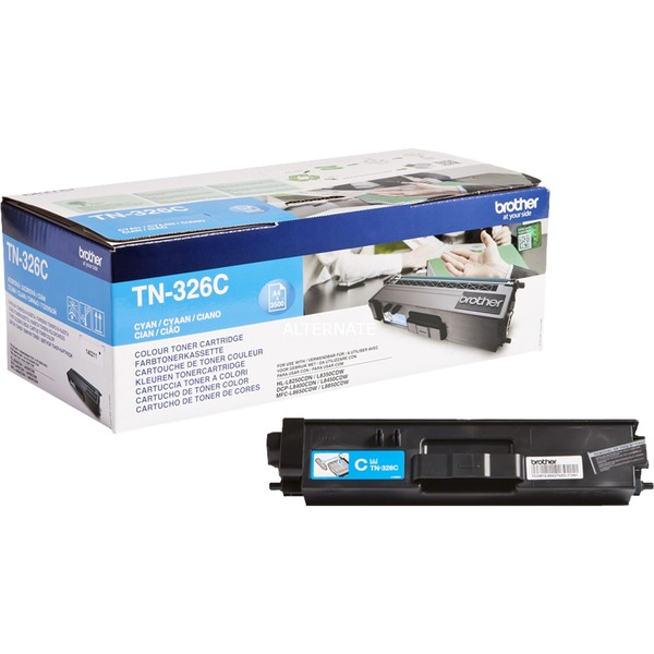 TN-326C - Cartouche d'encre - Toner Cyan