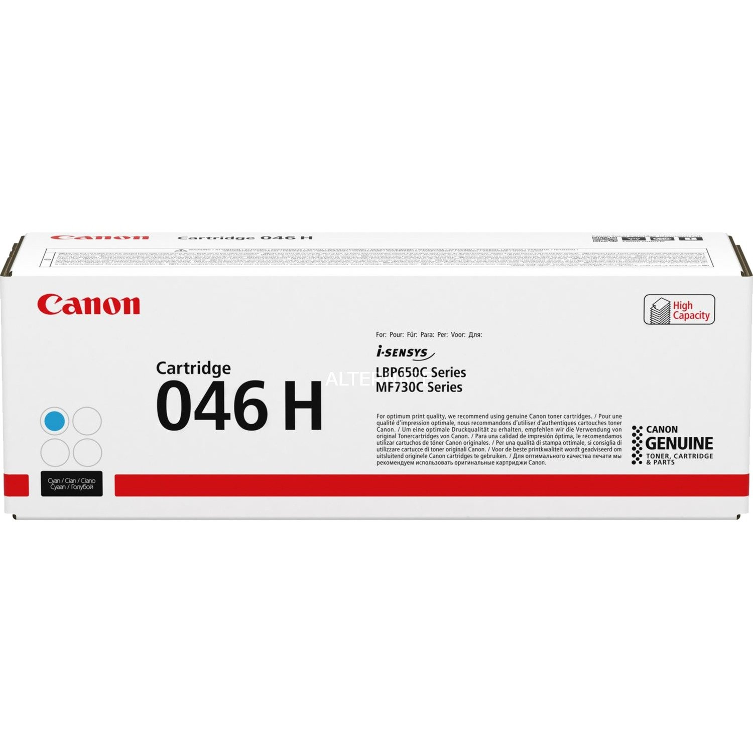 046 H Cartouche laser 5000pages Cyan, Toner