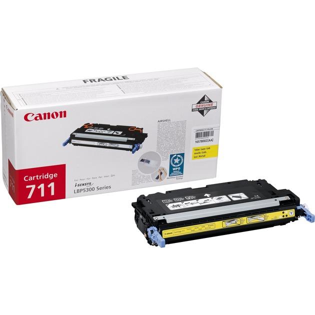 1657B002 Laser cartridge 6000pages Jaune cartouche toner et laser