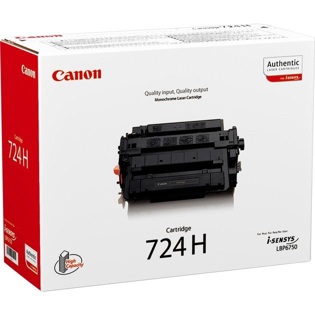 CRG-724H Cartouche laser 12500pages Noir, Toner