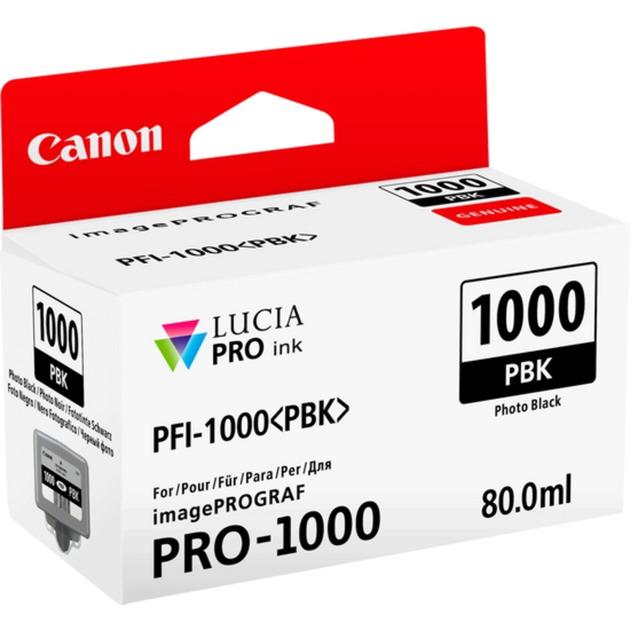 PFI-1000 PBK 80ml Photo noire cartouche d'encre