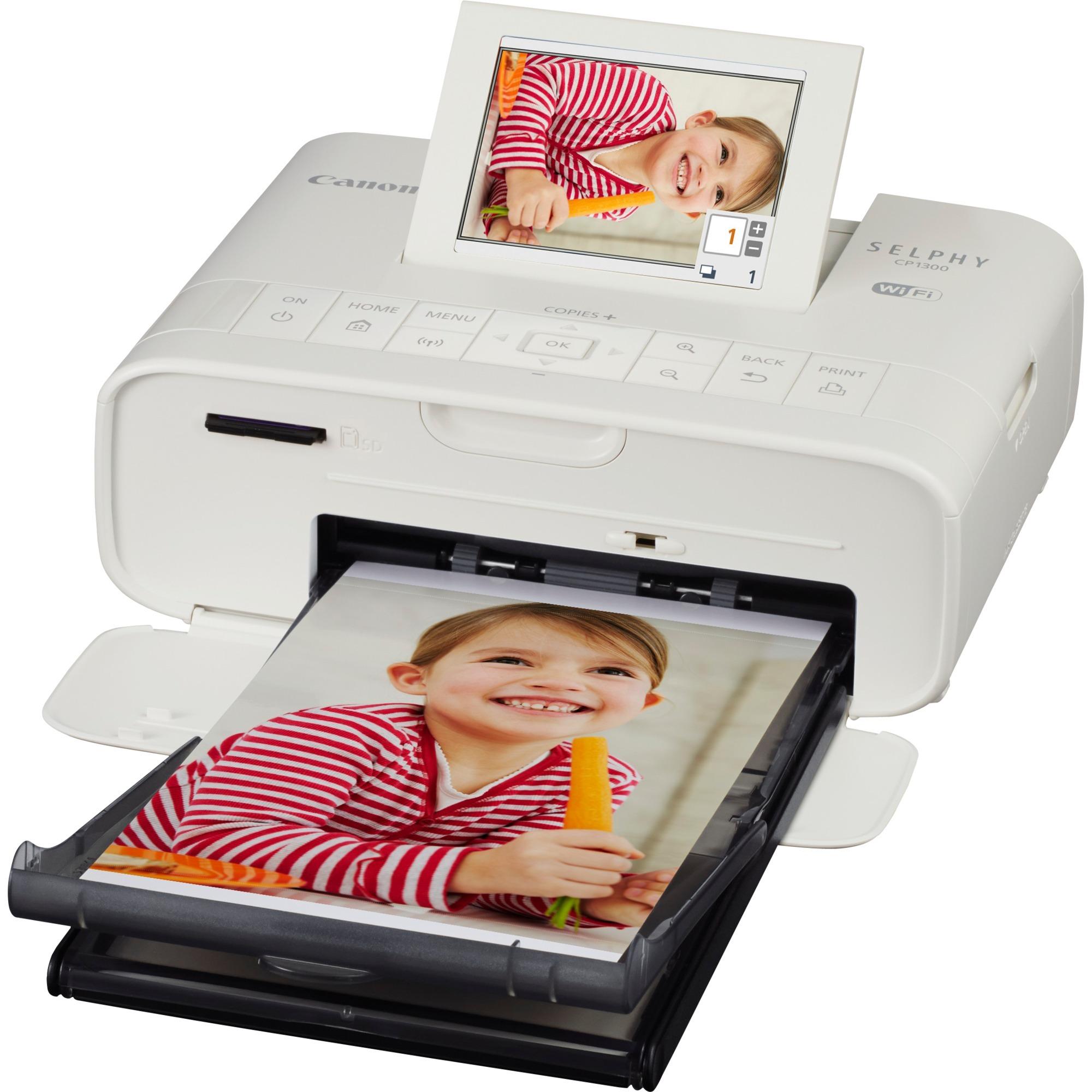 SELPHY CP1300 Sublimation de teinte 300 x 300DPI Wifi imprimante photo