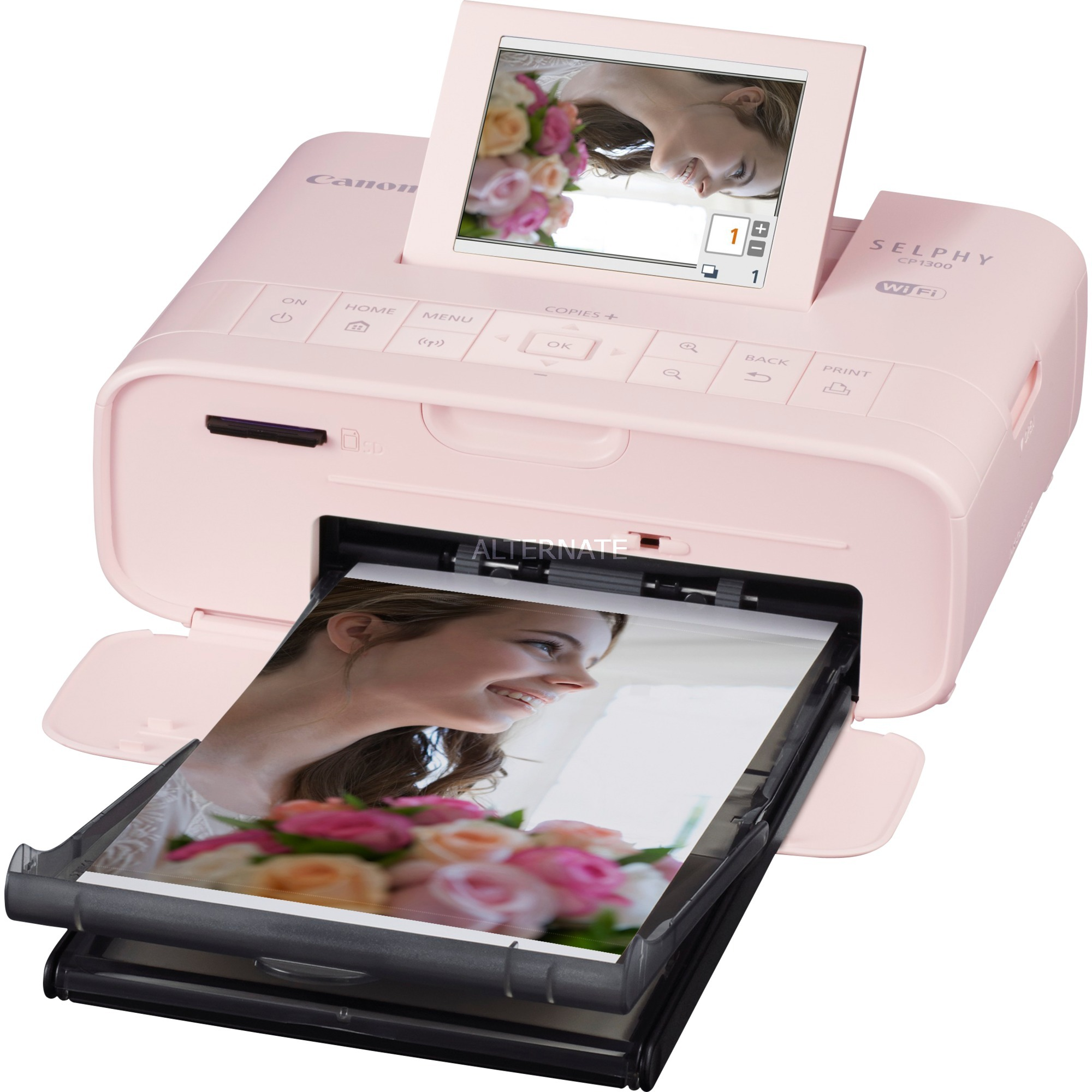 SELPHY CP1300 Sublimation de teinte 300 x 300DPI Wifi imprimante photo
