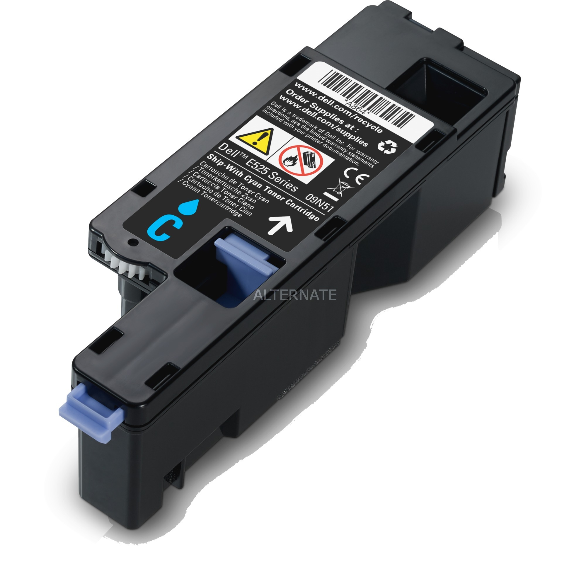 H5WFX Cartouche laser 1400pages Cyan, Toner