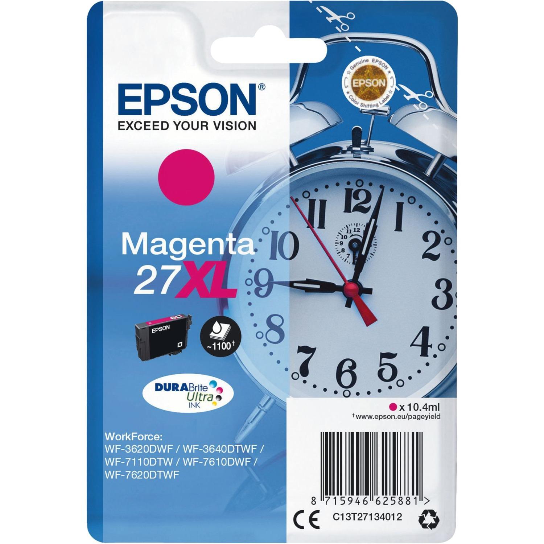 C13T27134012 10.4ml 1100pages Magenta cartouche d'encre, Toner