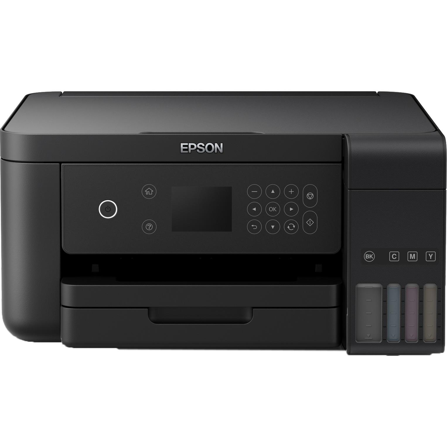 EcoTank ET‑3700 4800 x 1200DPI Jet d'encre A4 33ppm Wifi, Imprimante multifonction