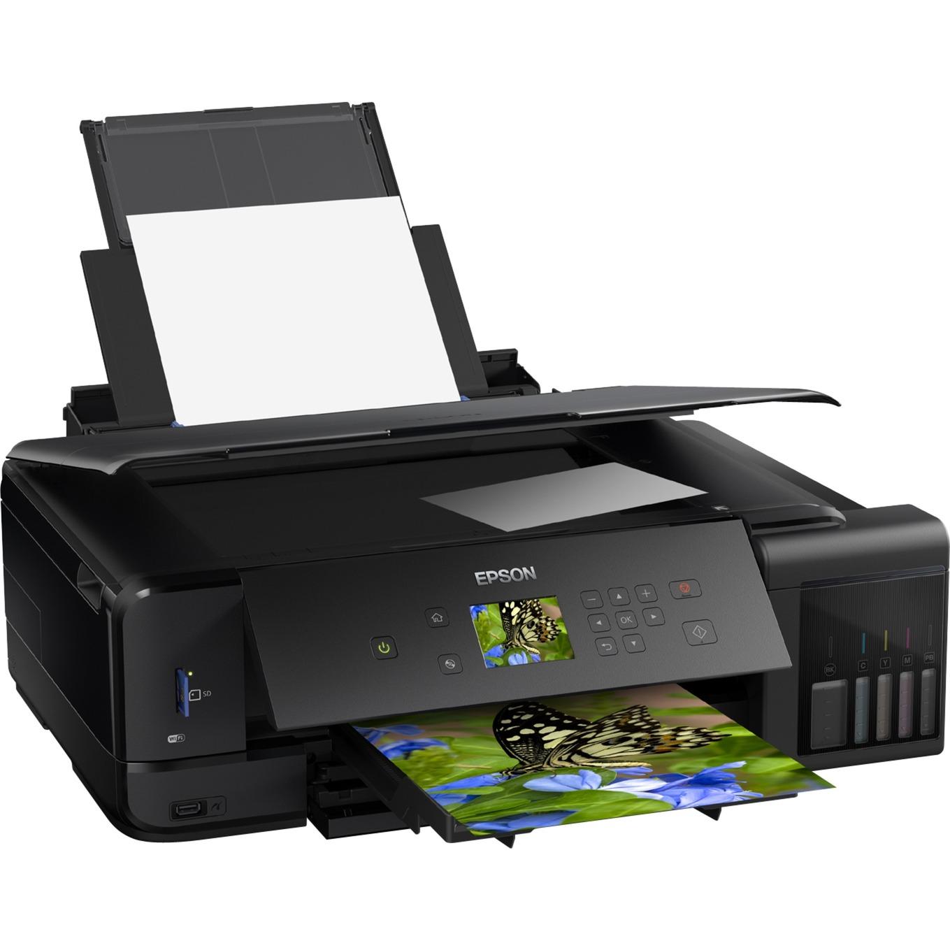 EcoTank ET-7750 5760 x 1440DPI Jet d'encre A3 28ppm Wifi, Imprimante multifonction
