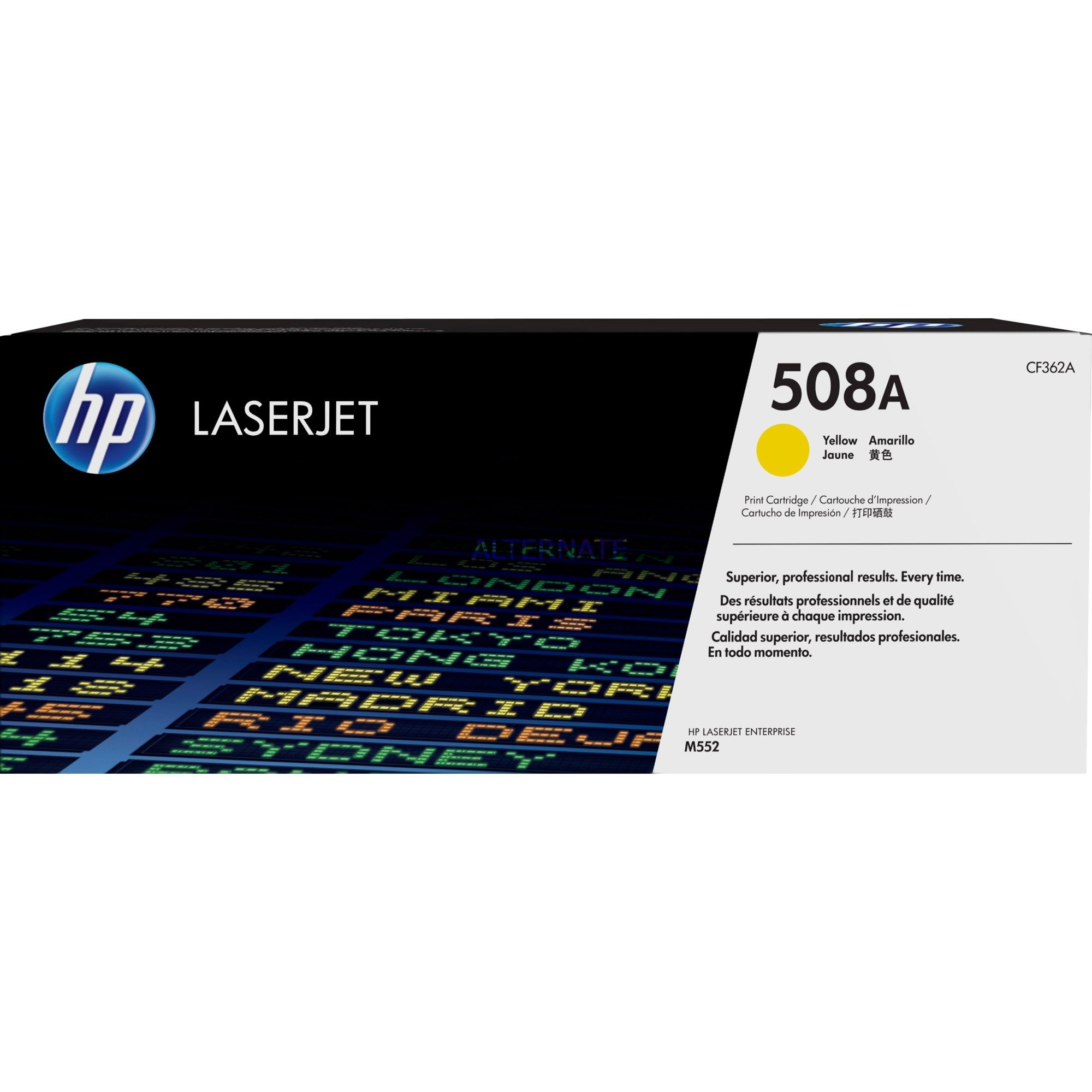 508A toner LaserJet Jaune authentique