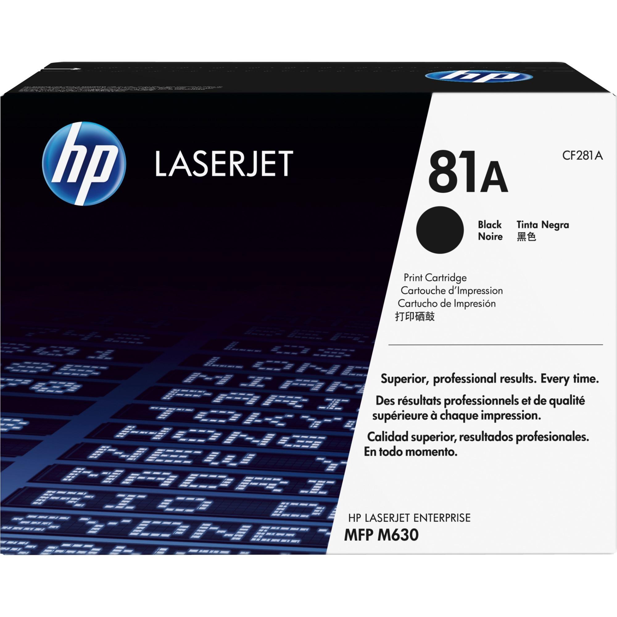 81A toner LaserJet noir authentique