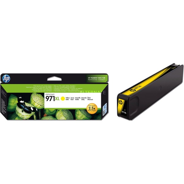 971XL cartouche d'encre jaune grande capacité authentique