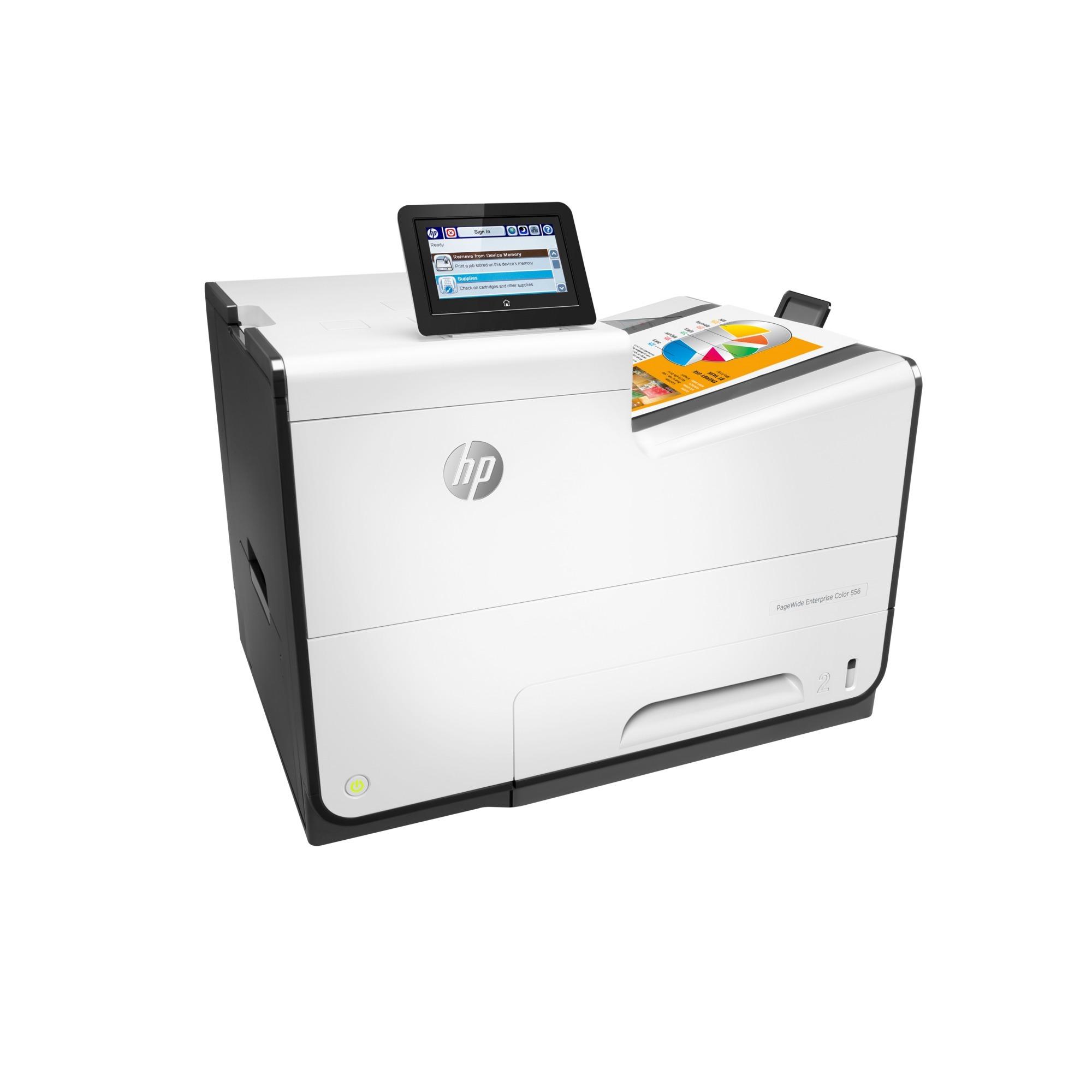 Imprimante couleur PageWide Enterprise 556dn, Imprimante jet d'encre