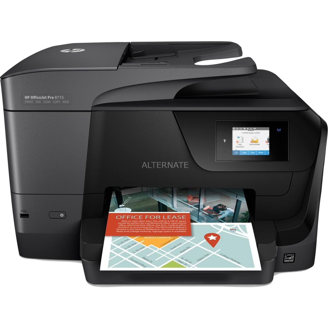 OfficeJet Pro Imprimante tout-en-un Pro 8715, Imprimante multifonction
