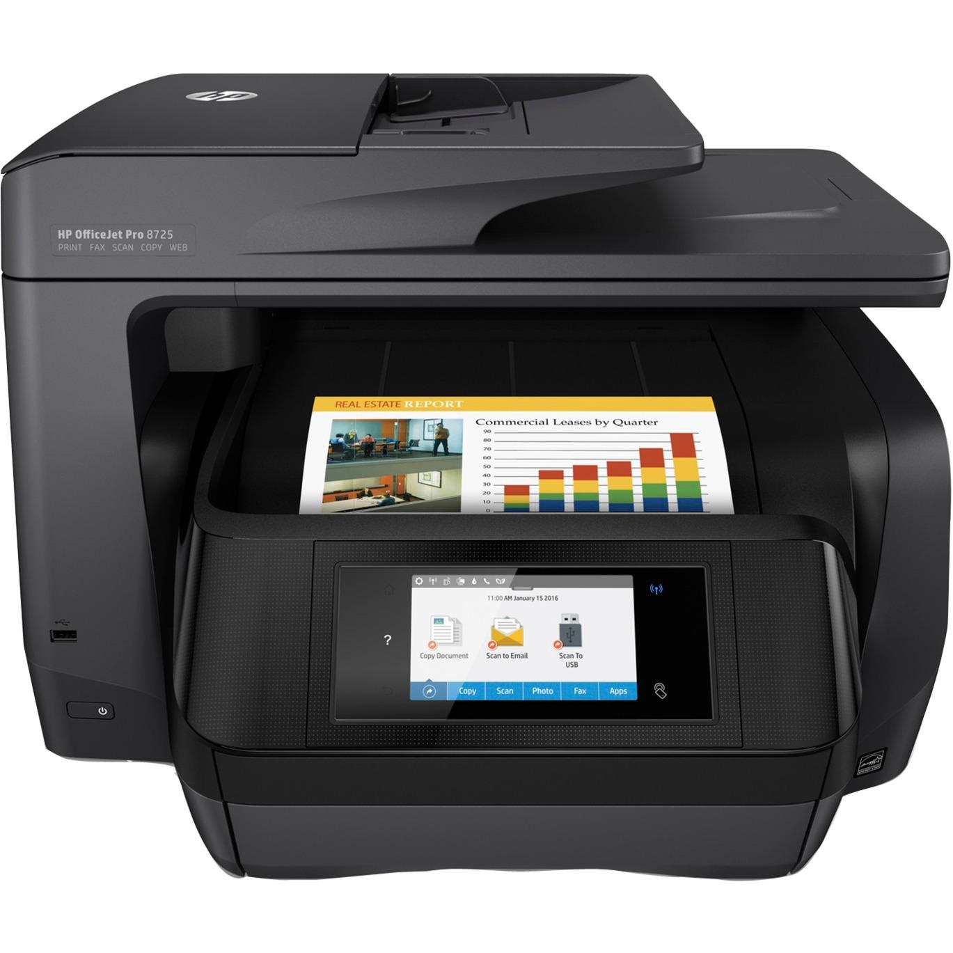 OfficeJet Pro Imprimante tout-en-un Pro 8725, Imprimante multifonction
