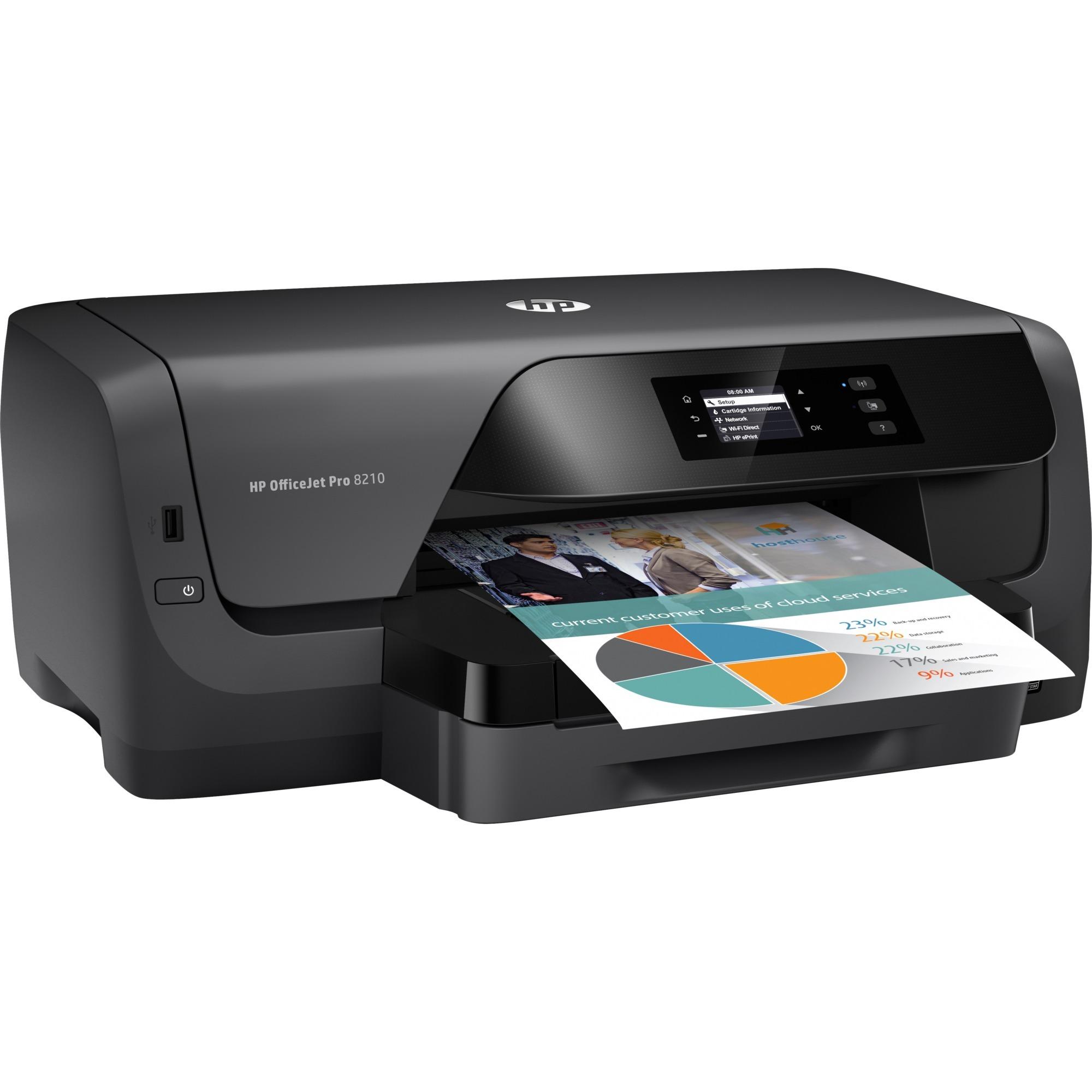Officejet Imprimante Pro 8210, Imprimante jet d'encre