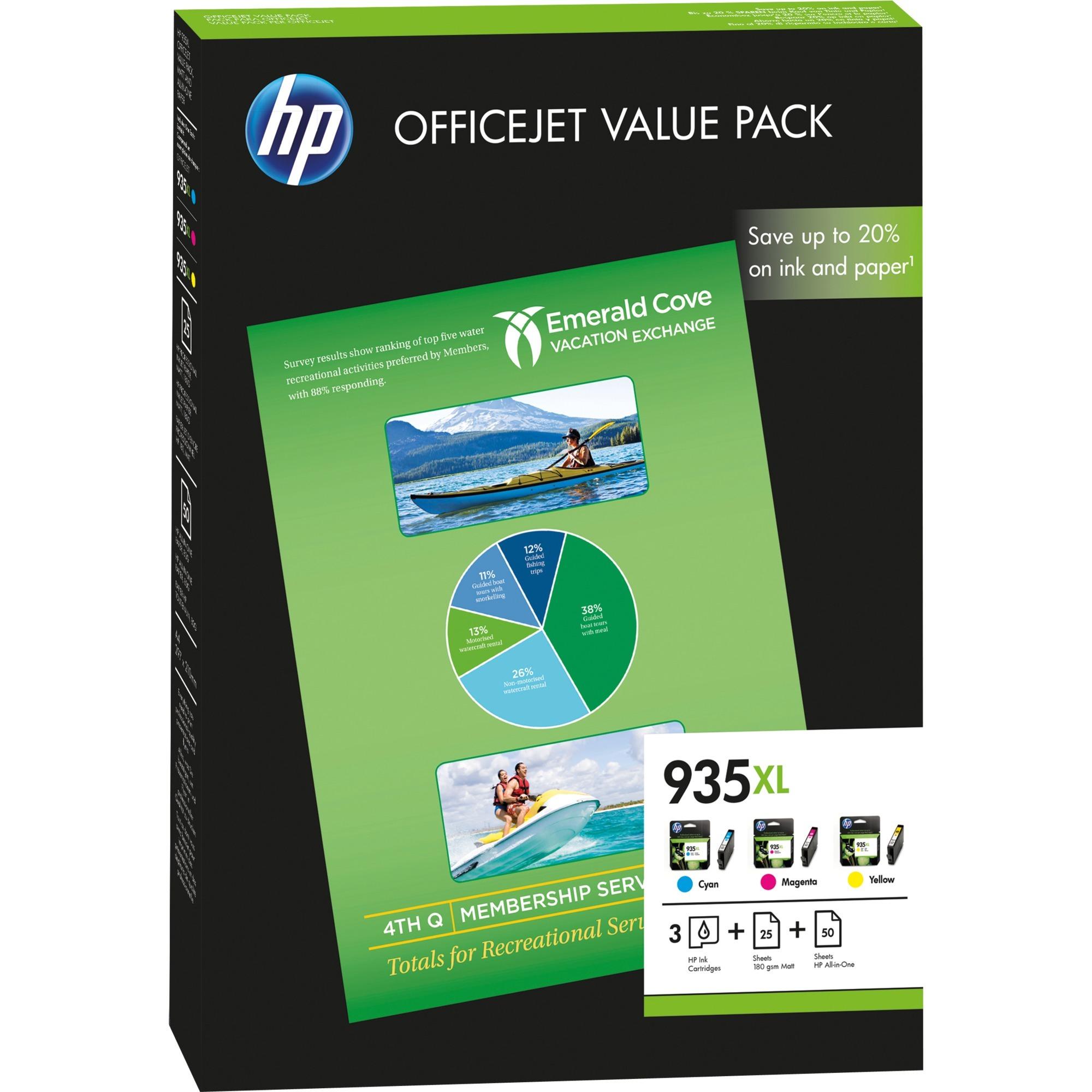Offre économique 935XL Office - 75 feuilles/A4/210 x 297 mm, Encre