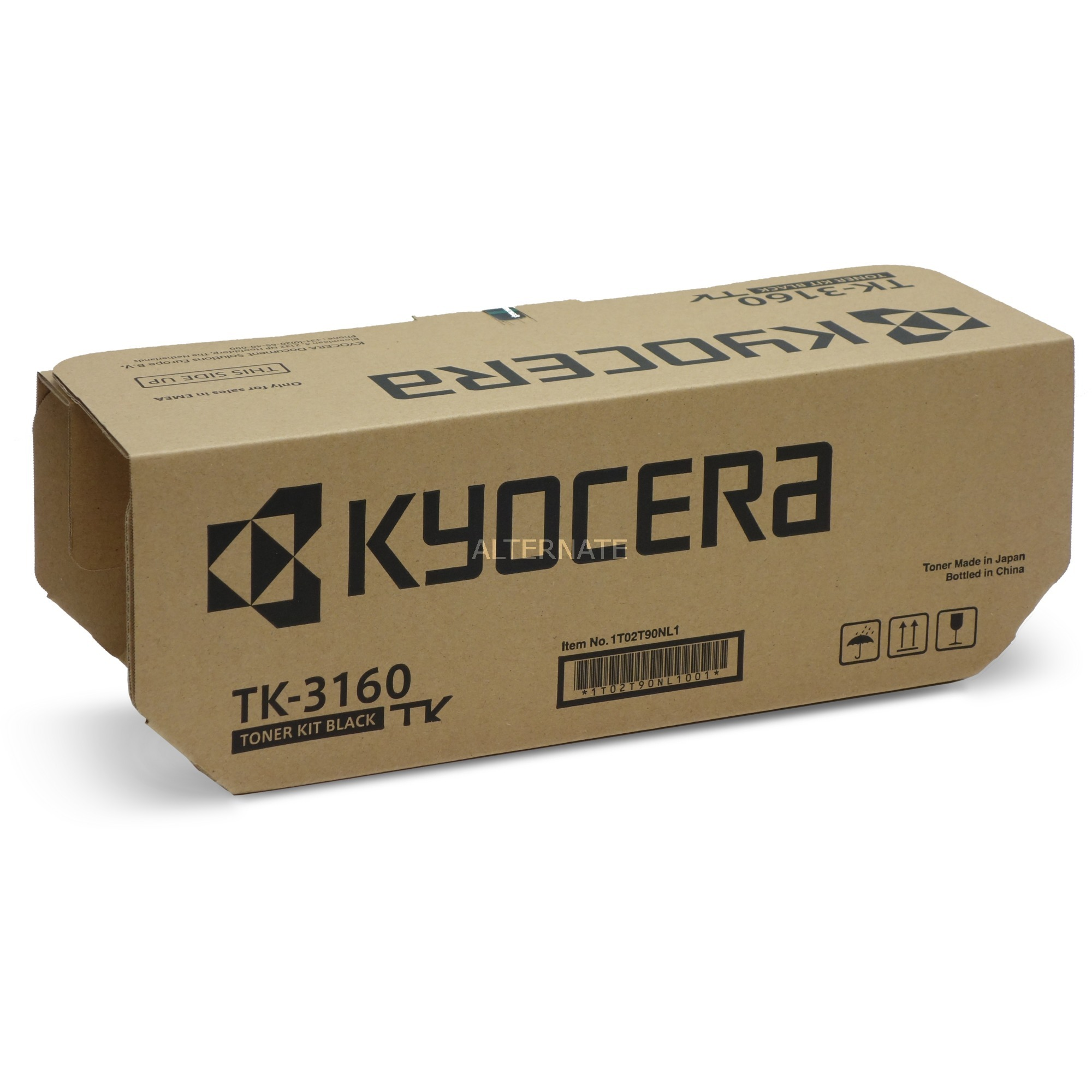 TK-3160 Toner laser 12500pages Noir