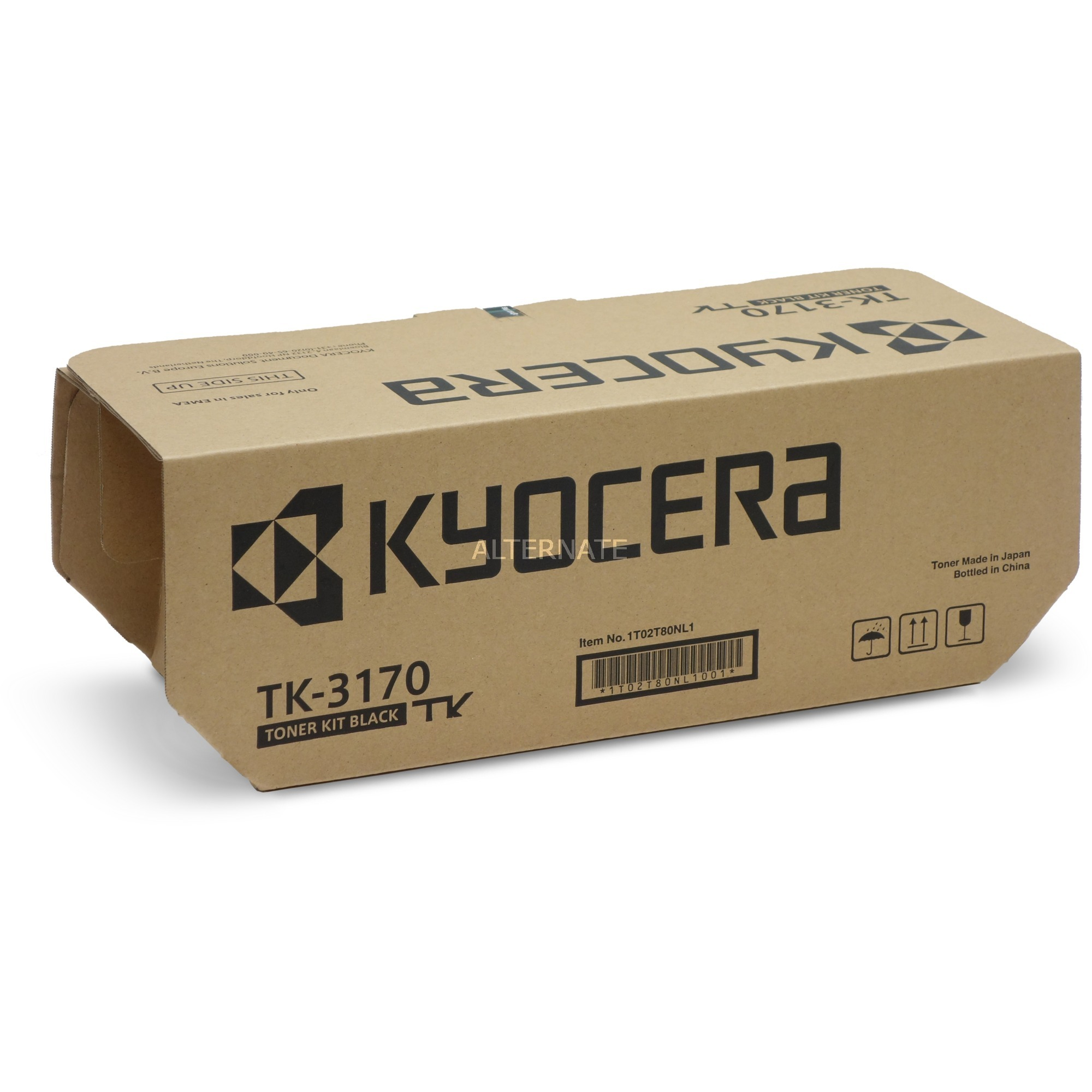 TK-3170 Toner laser 15500pages Noir