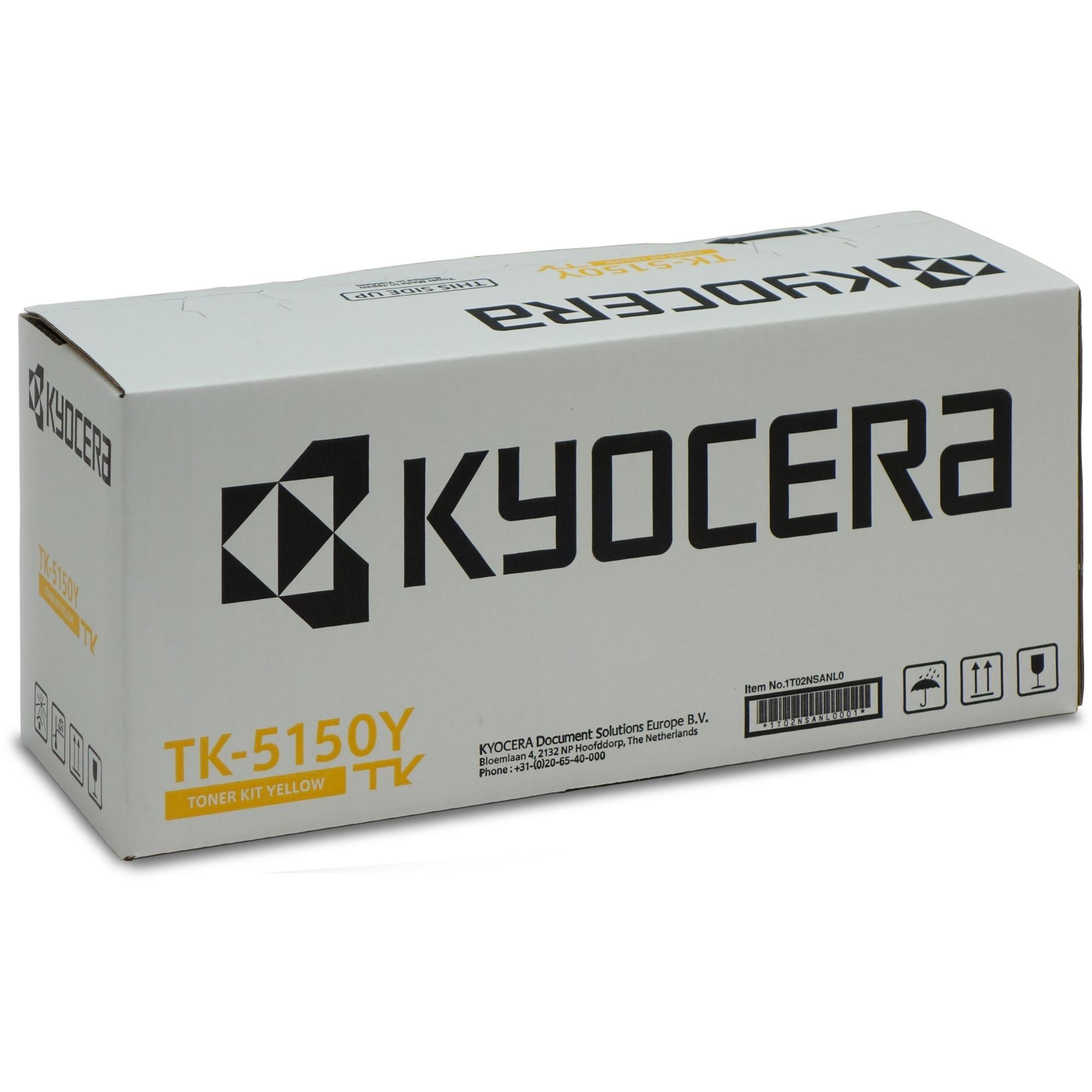 TK-5150Y Toner laser 10000pages Jaune