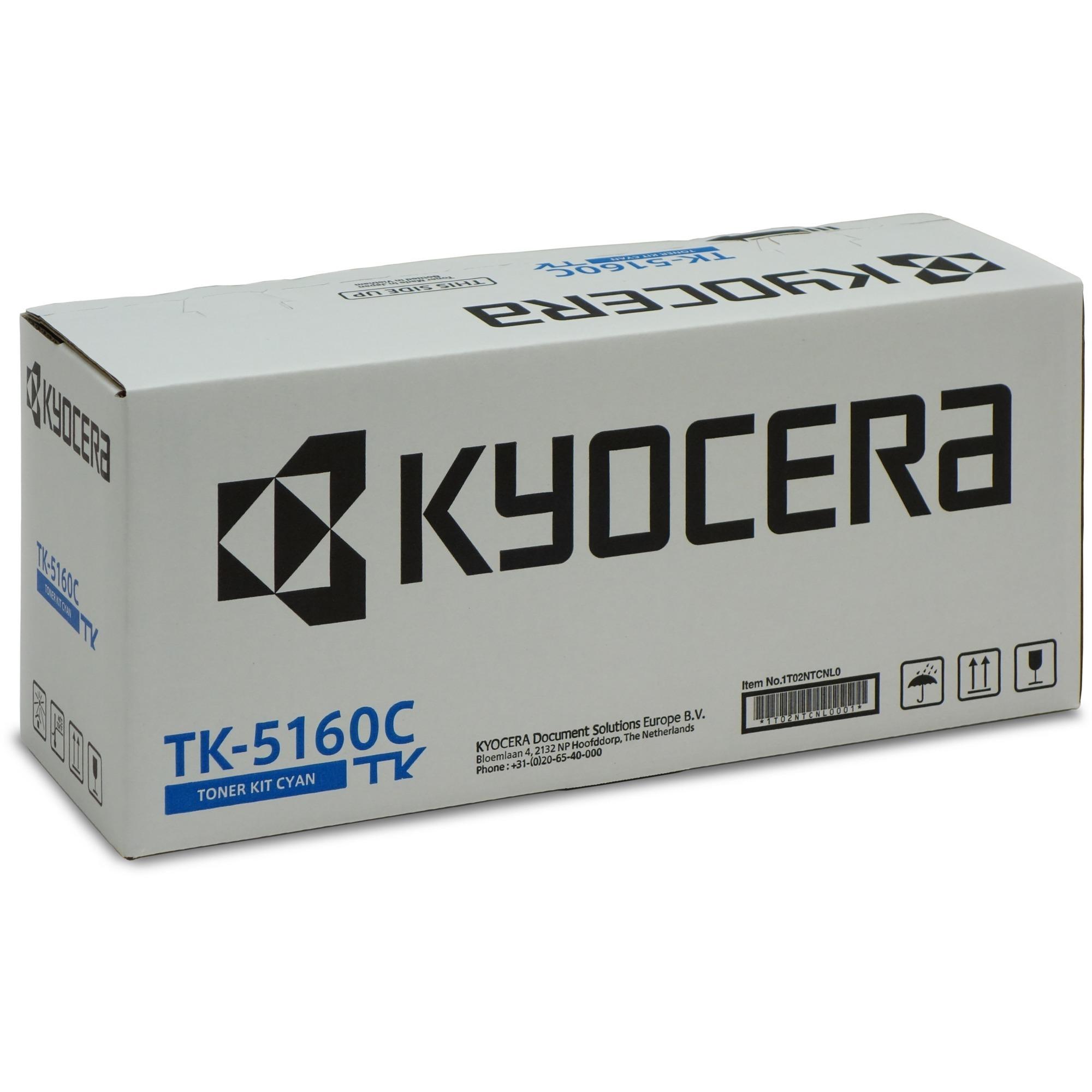 TK-5160C Toner laser 12000pages Cyan