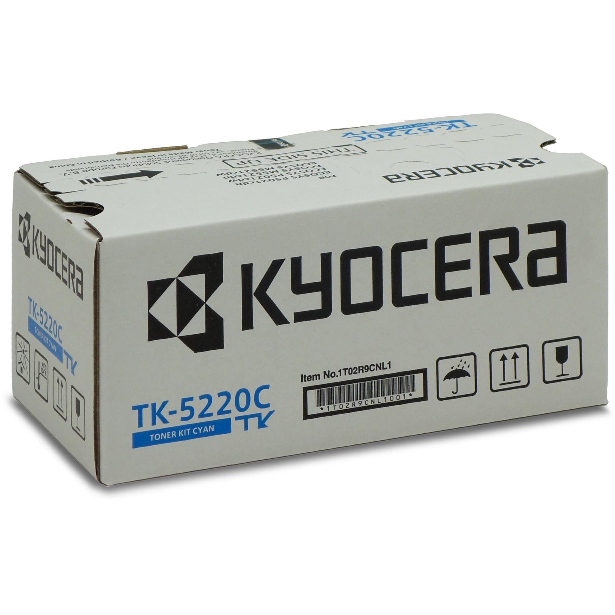 TK-5220C Toner laser 1200pages Cyan