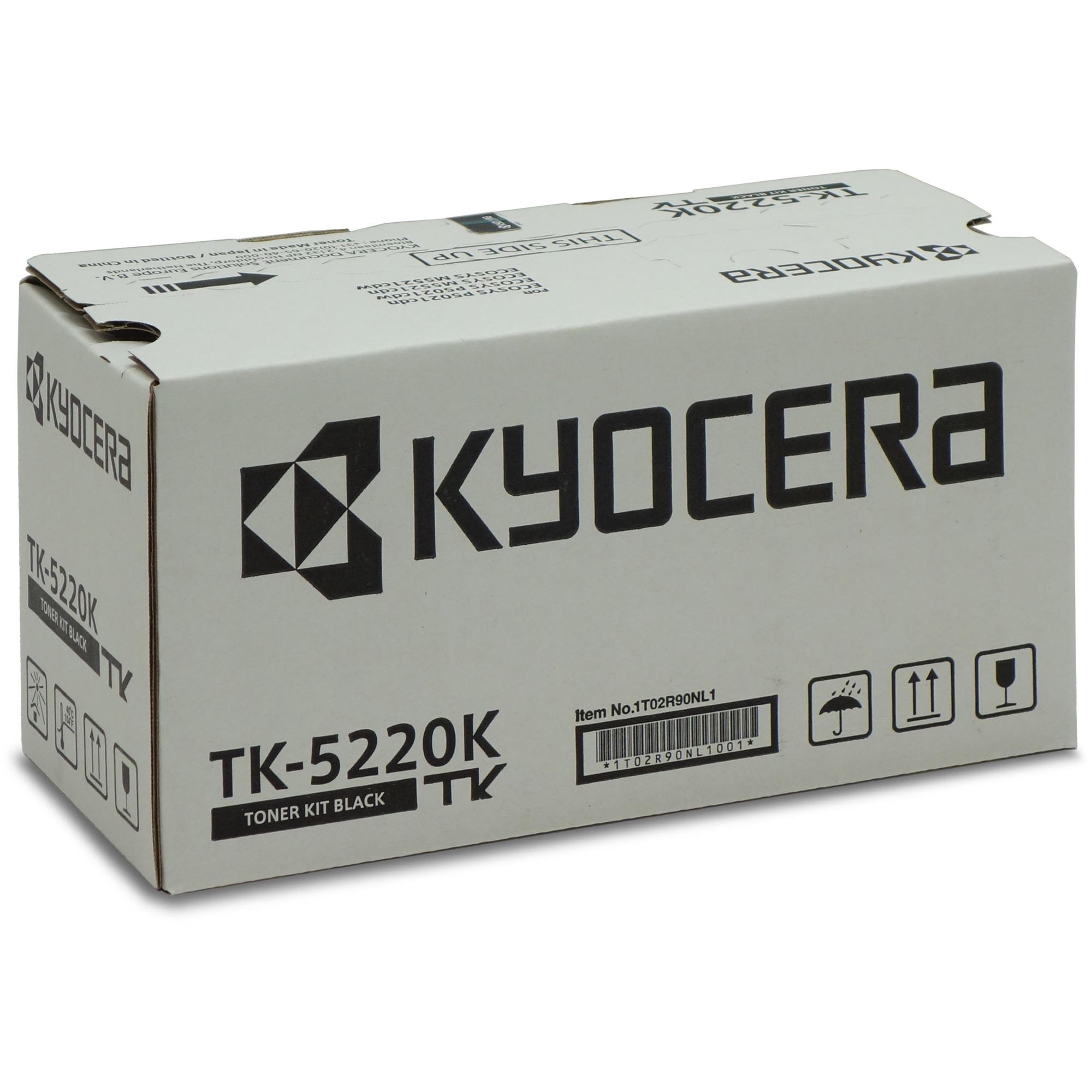 TK-5220K Toner laser 1200pages Noir