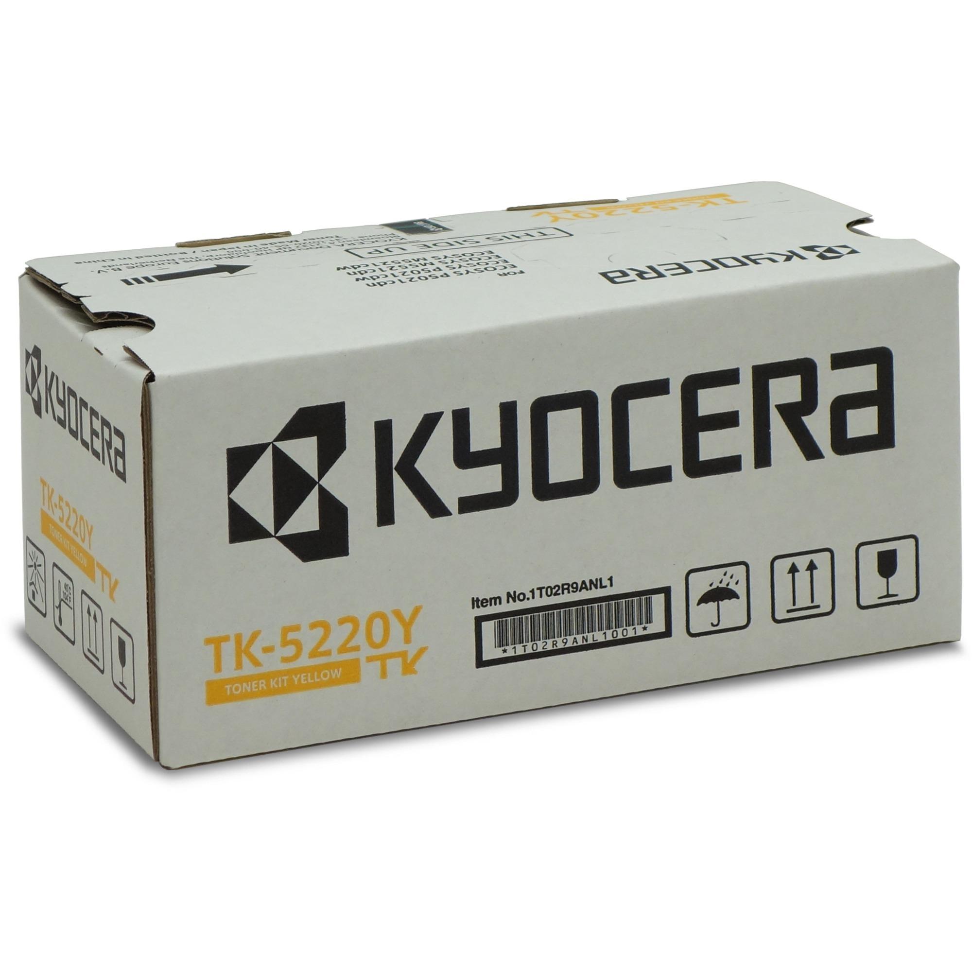 TK-5220Y Toner laser 1200pages Jaune