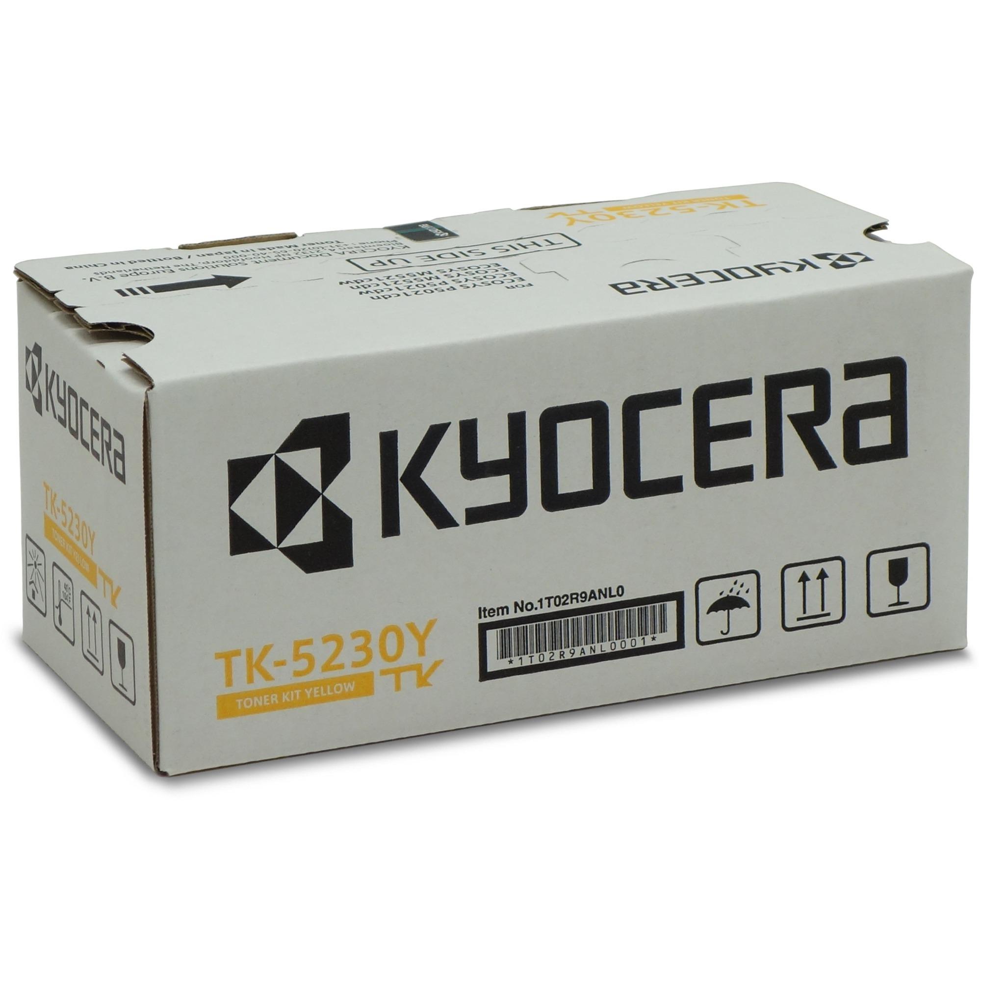TK-5230Y Toner laser 2200pages Jaune
