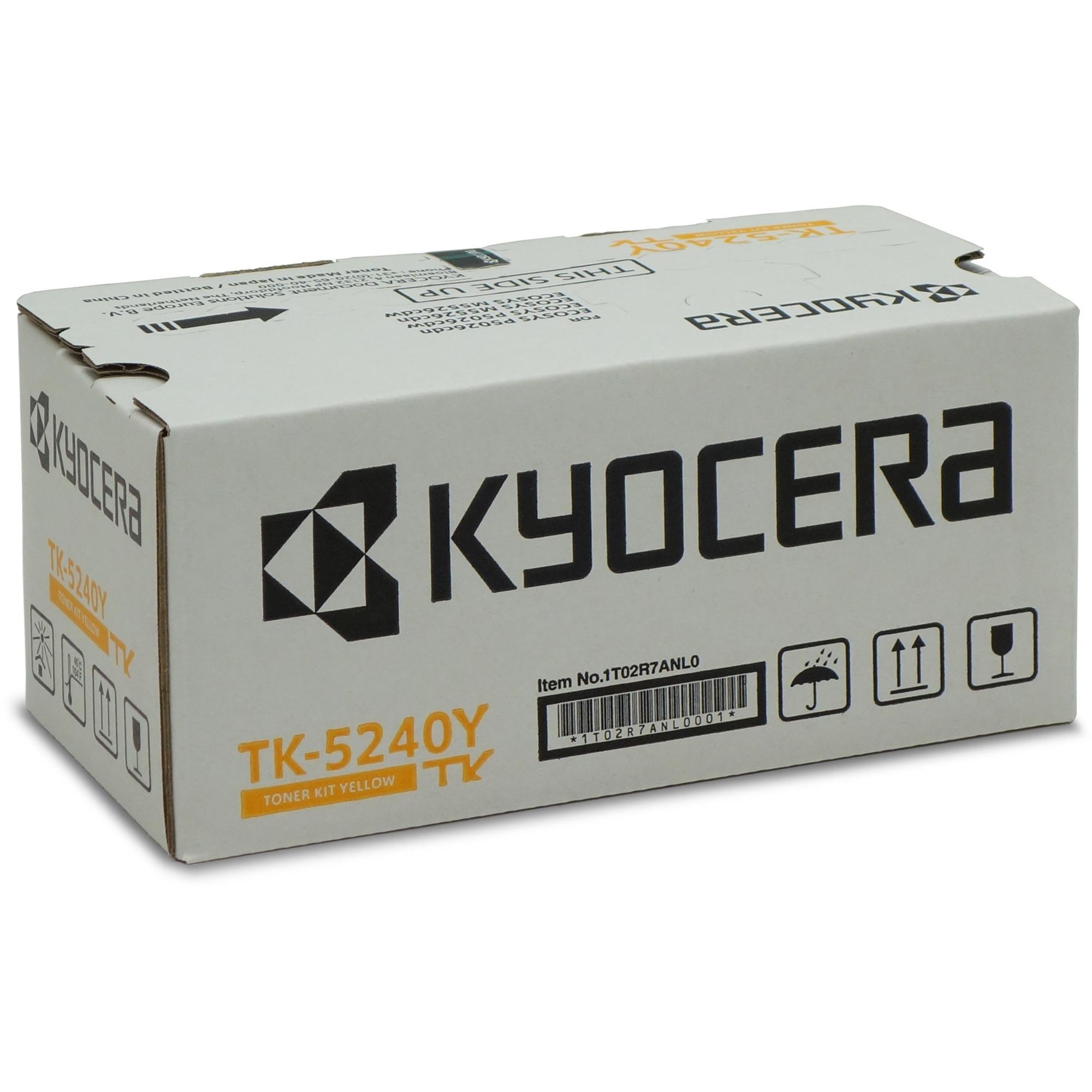 TK-5240Y Toner laser 3000pages Jaune