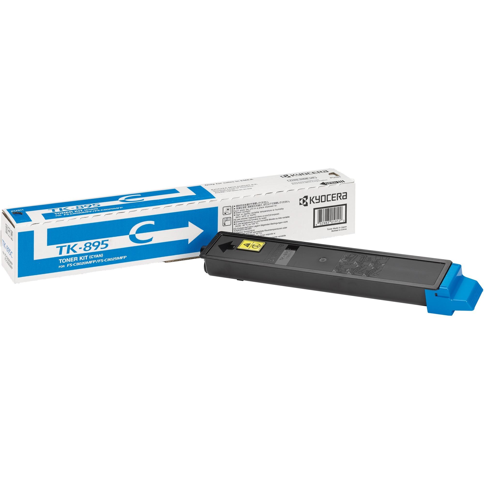 TK-895C Toner laser 6000pages Cyan