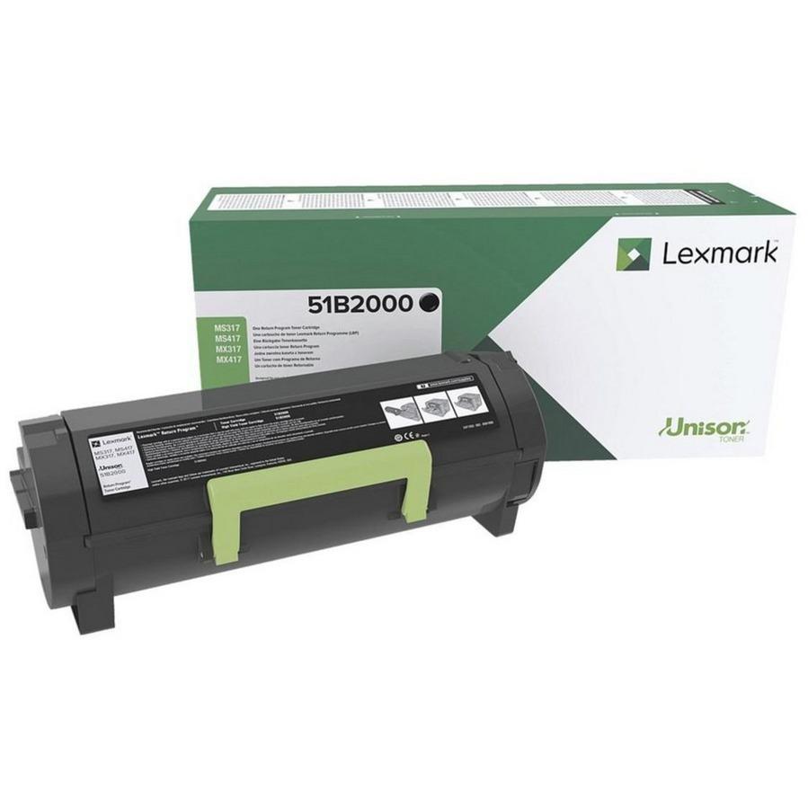 51B2000 Toner laser Noir cartouche toner et laser