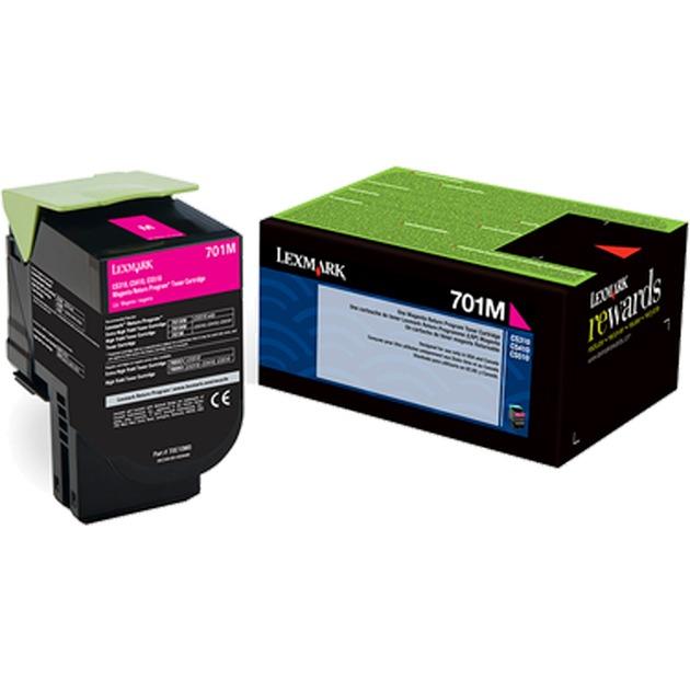 702M R Cartouche laser 1000pages Magenta, Toner