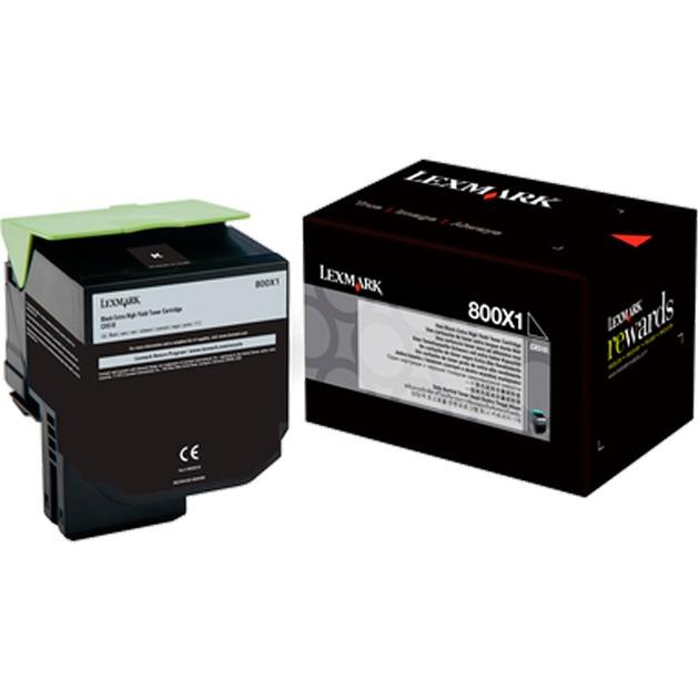 80C0X10 Cartouche laser 8000pages Noir cartouche toner et laser