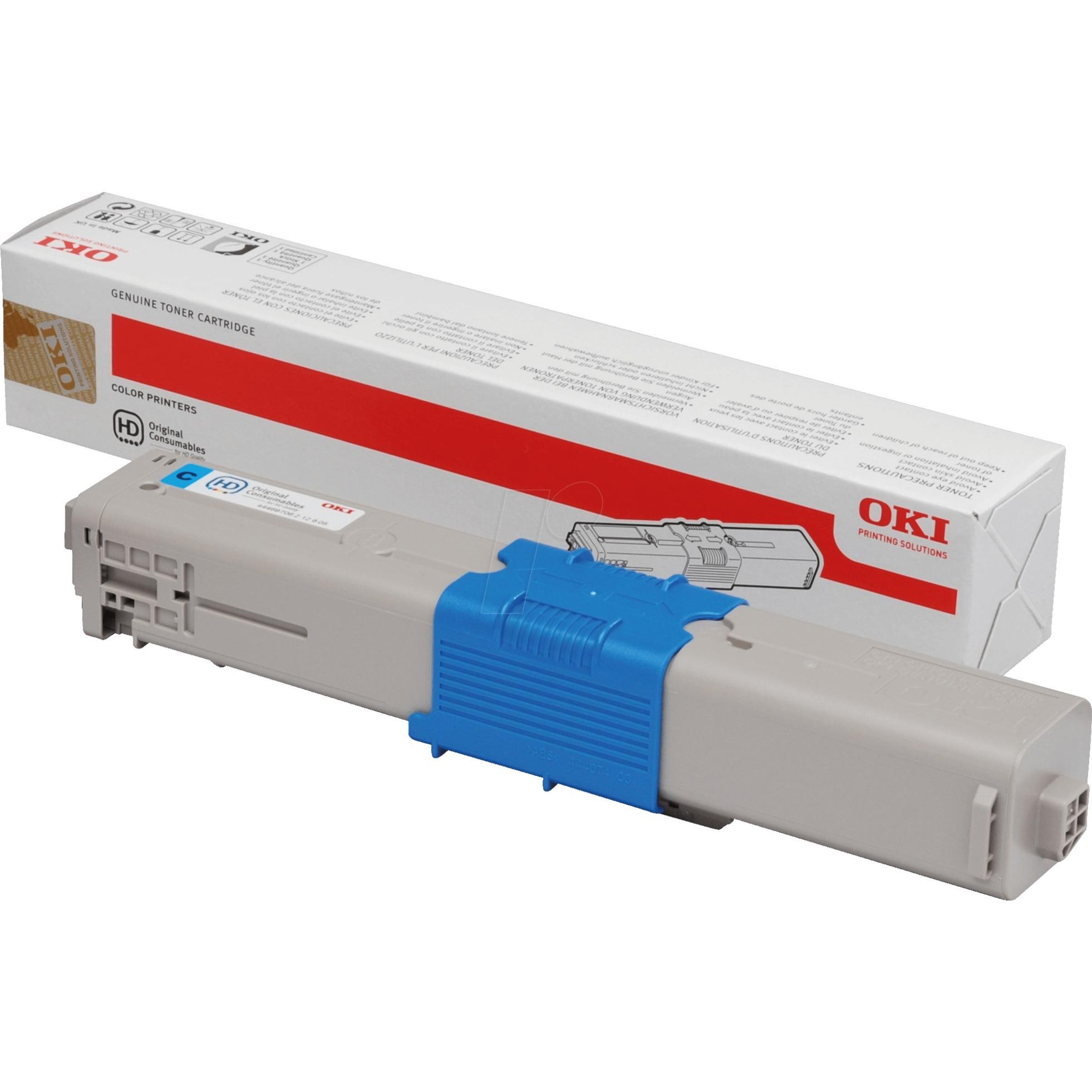 44469706 Toner laser 2000pages Cyan cartouche toner et laser
