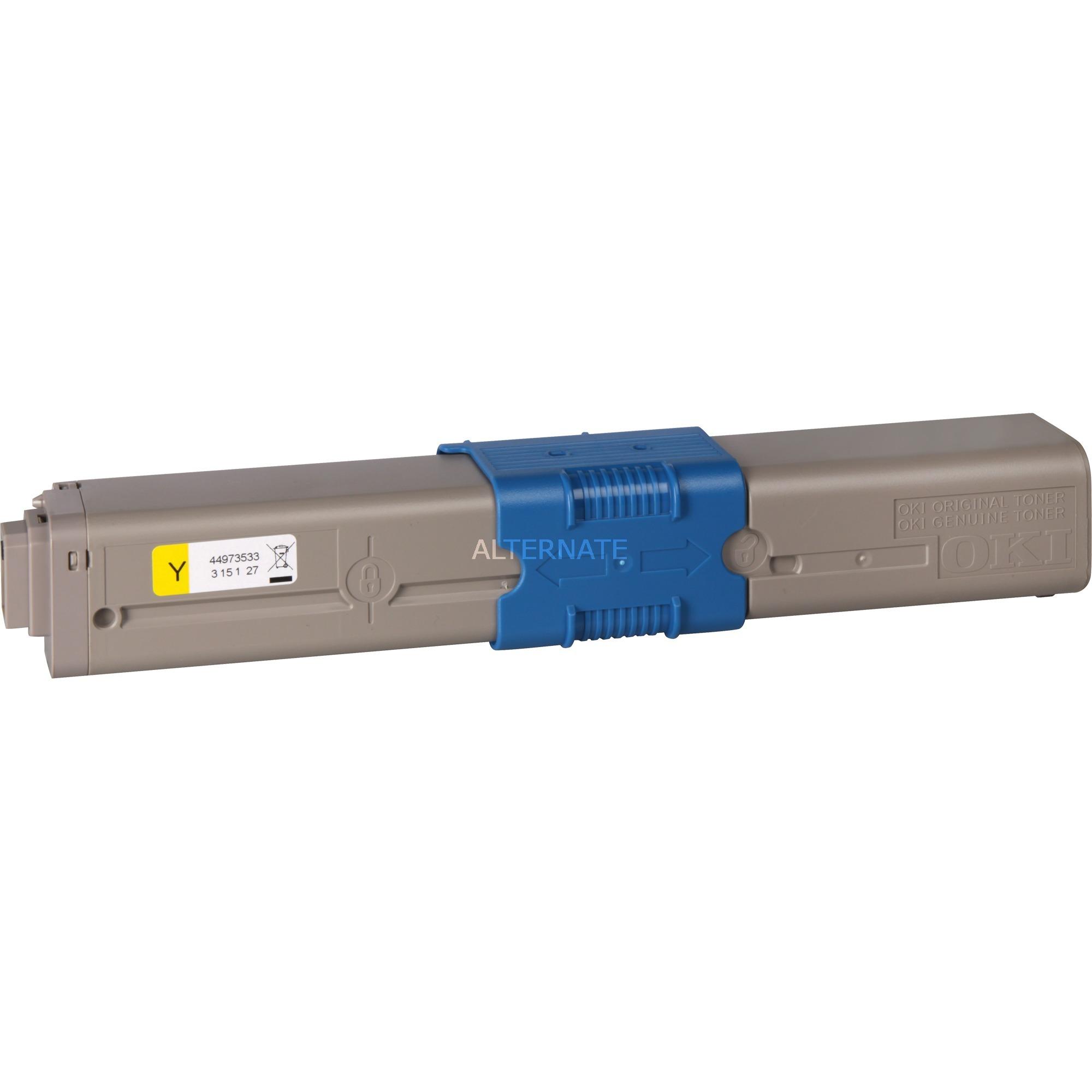 44973533 Cartouche laser 1500pages Jaune cartouche toner et laser