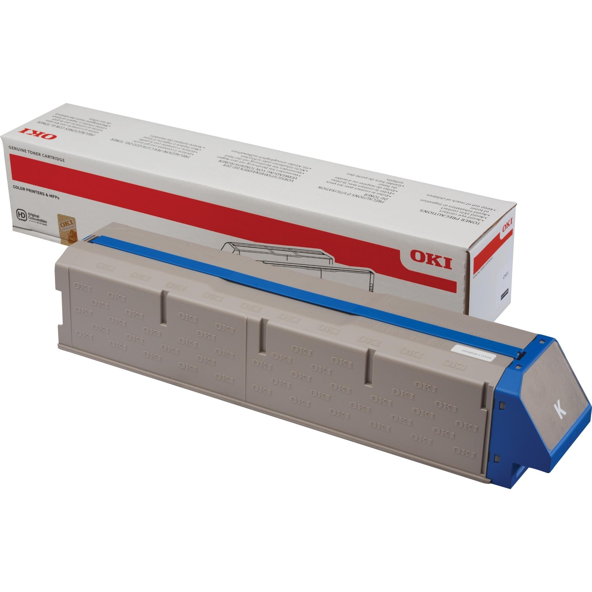 45536508 Cartouche laser 38000pages Noir cartouche toner et laser