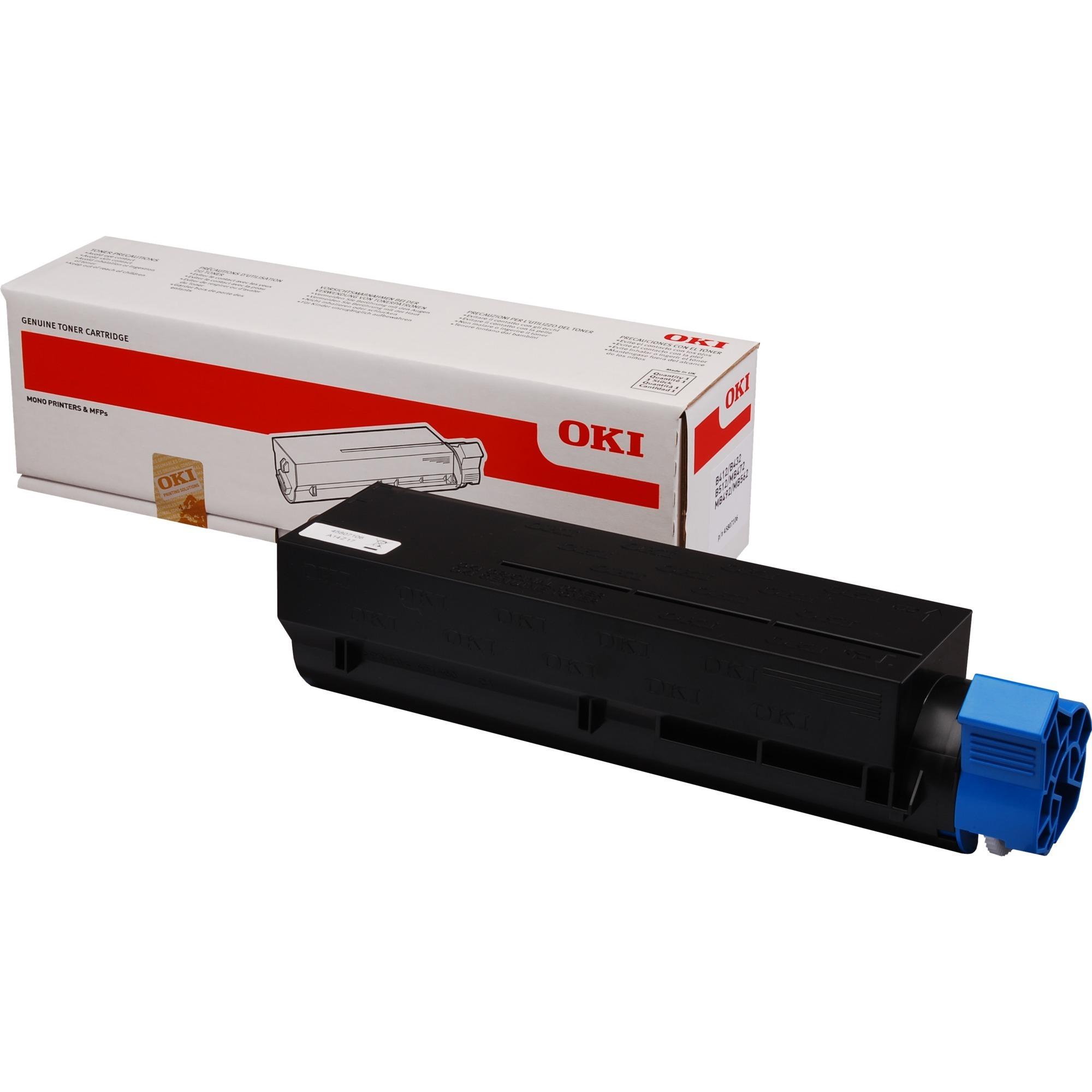 45807106 Toner laser 7000pages Noir cartouche toner et laser