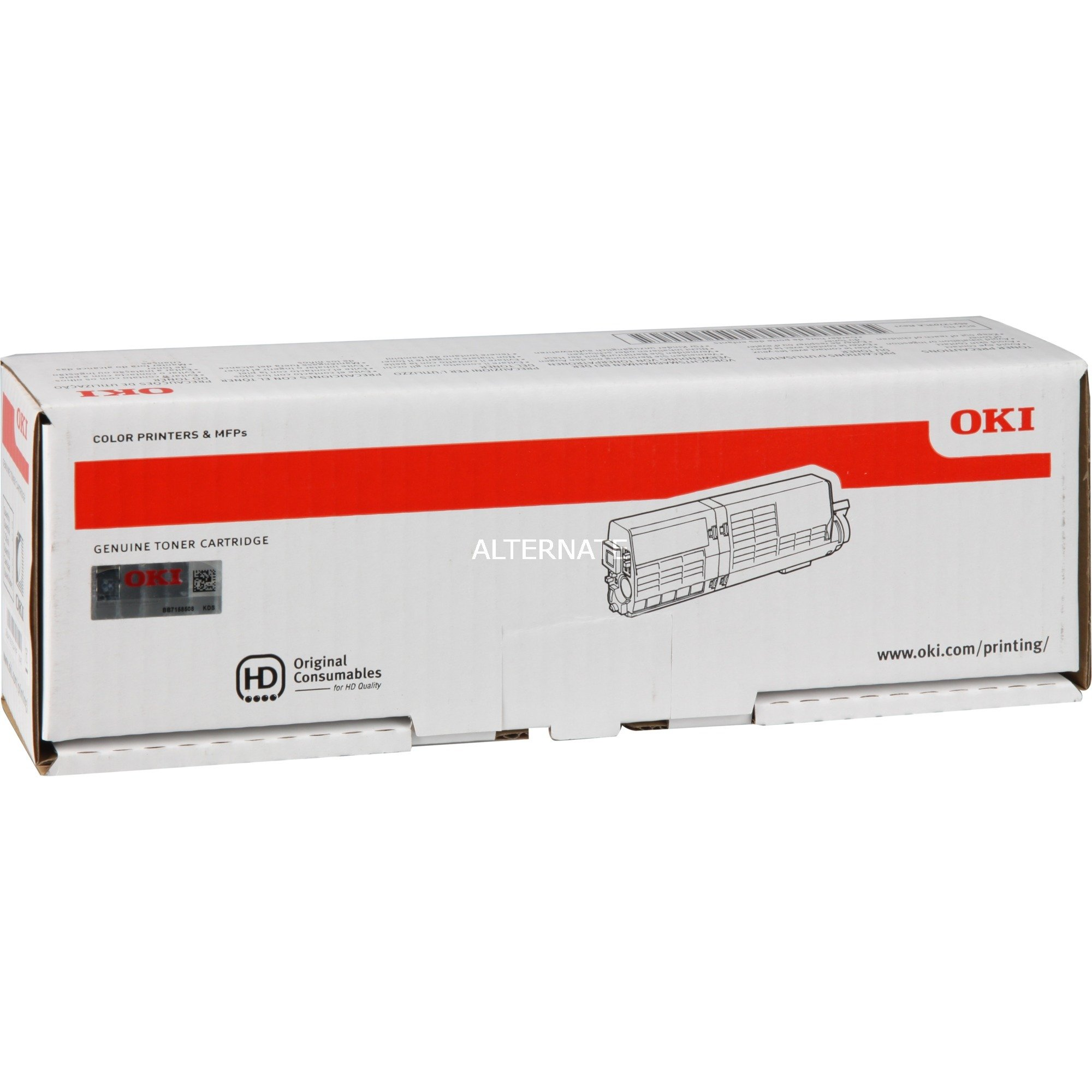 46490404 Toner laser 1500pages Noir cartouche toner et laser