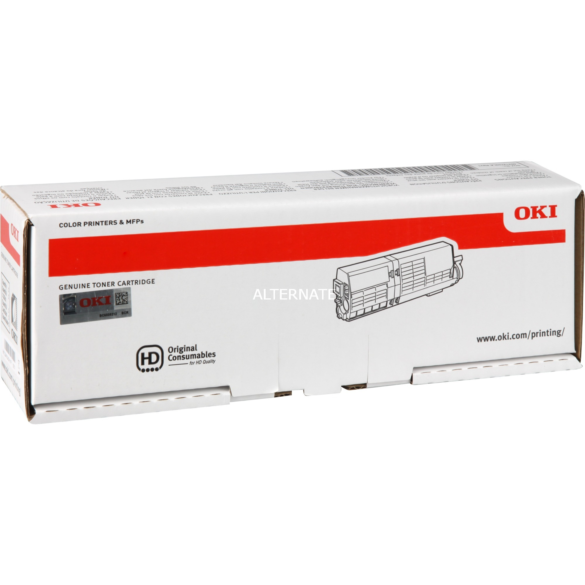 46490605 Toner laser 6000pages Jaune cartouche toner et laser